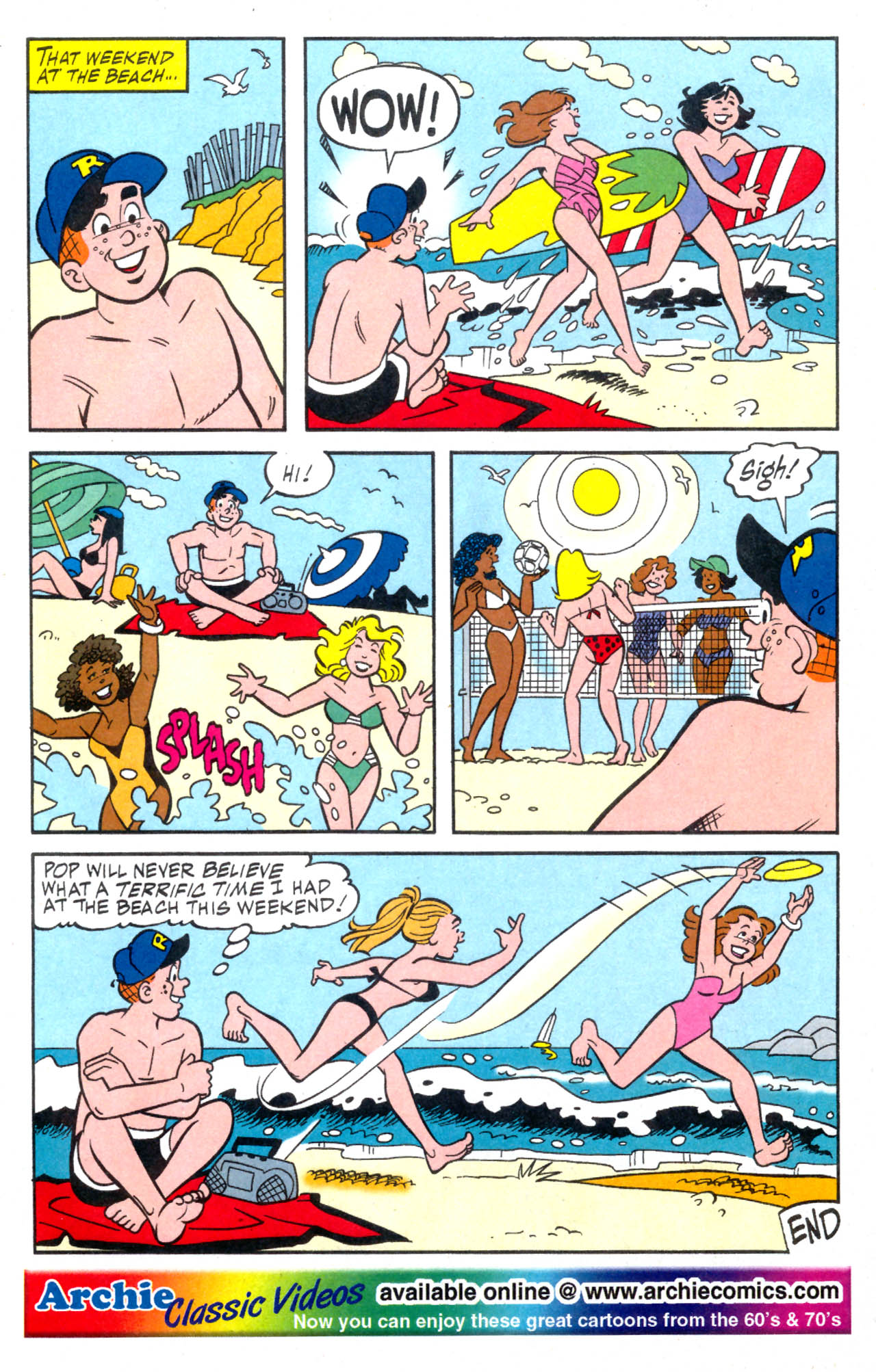 Read online Archie (1960) comic -  Issue #576 - 12
