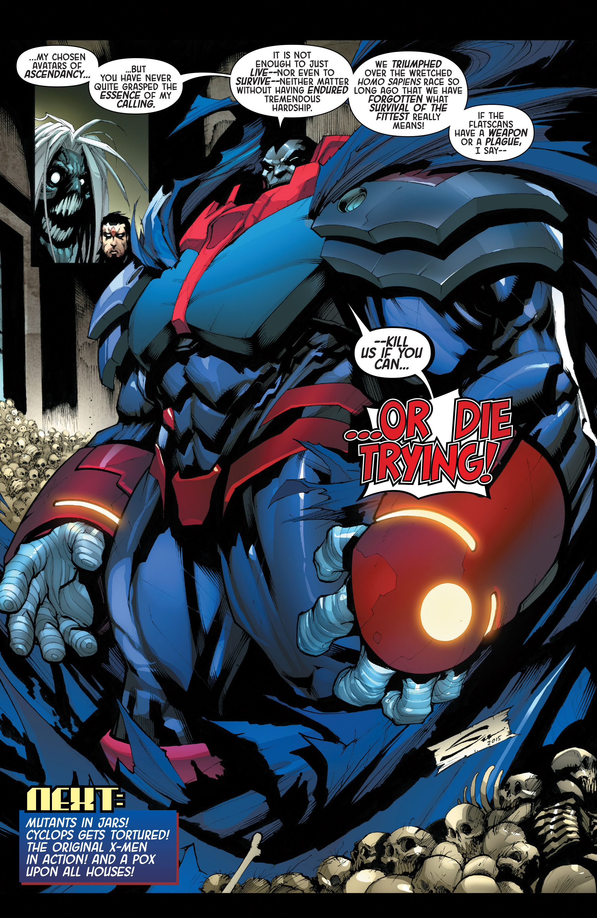 Read online Age of Apocalypse (2015) comic -  Issue #2 - 22