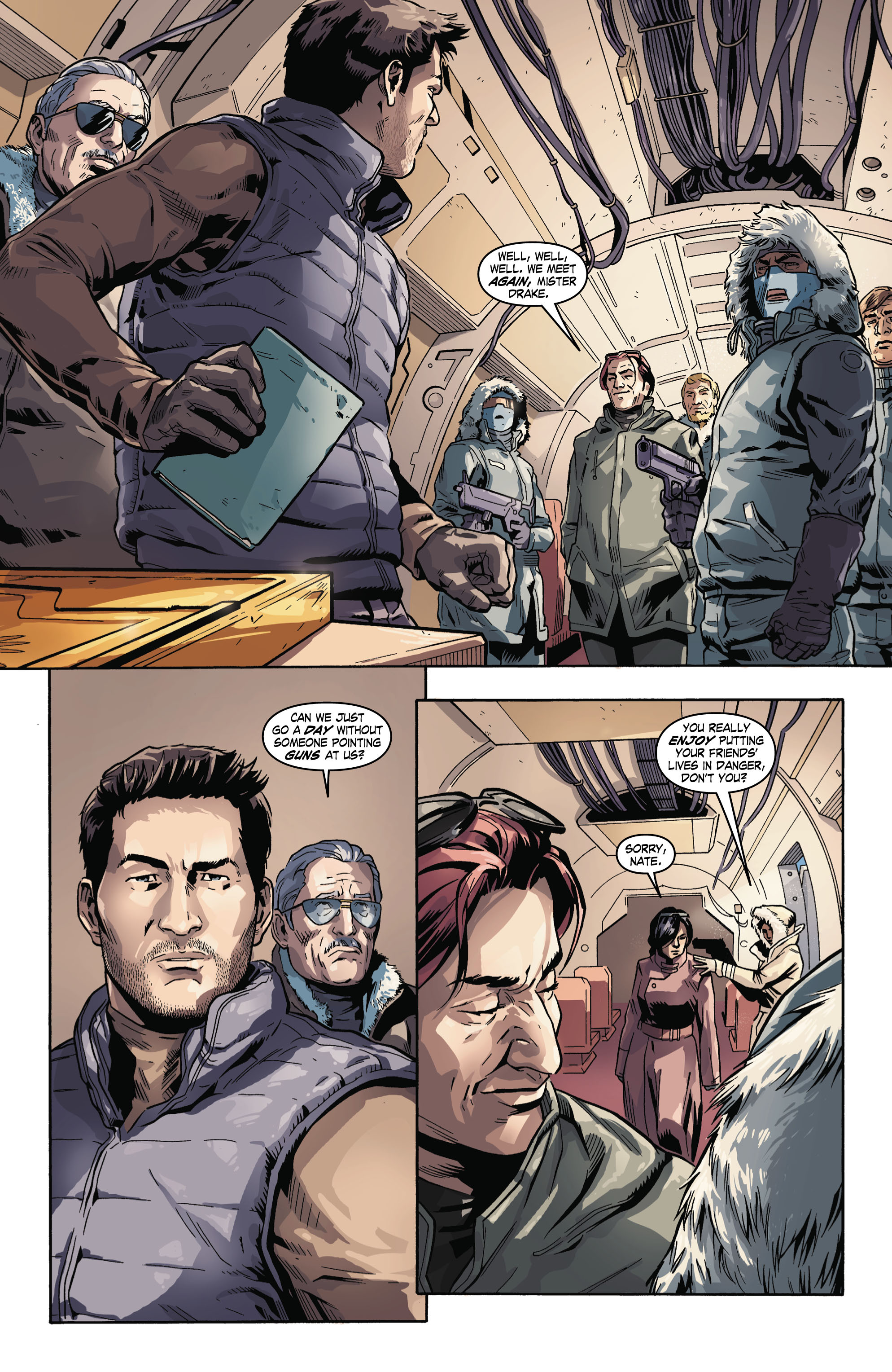Read online Uncharted comic -  Issue #3 - 14