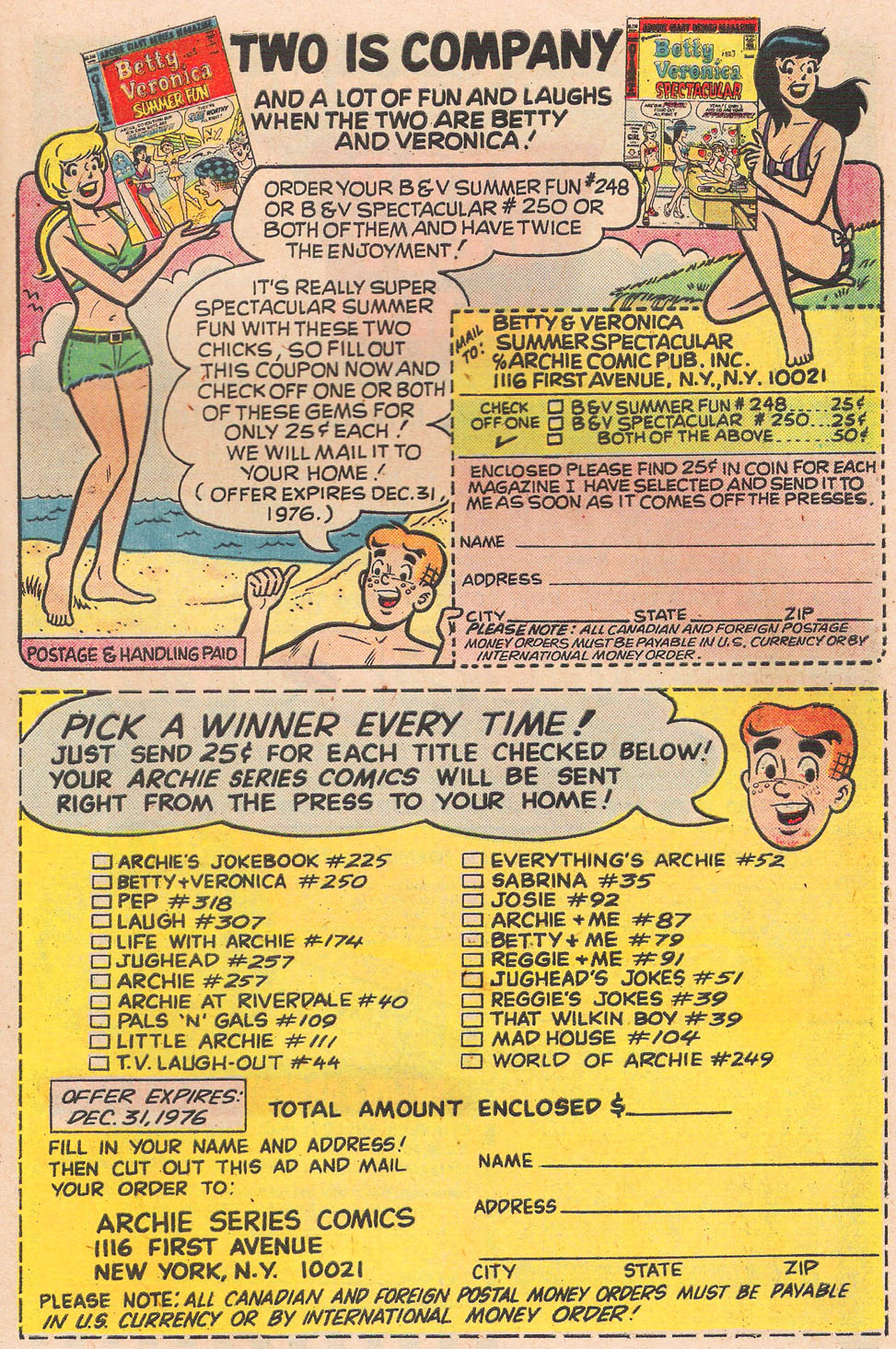 Read online Archie's Girls Betty and Veronica comic -  Issue #249 - 27