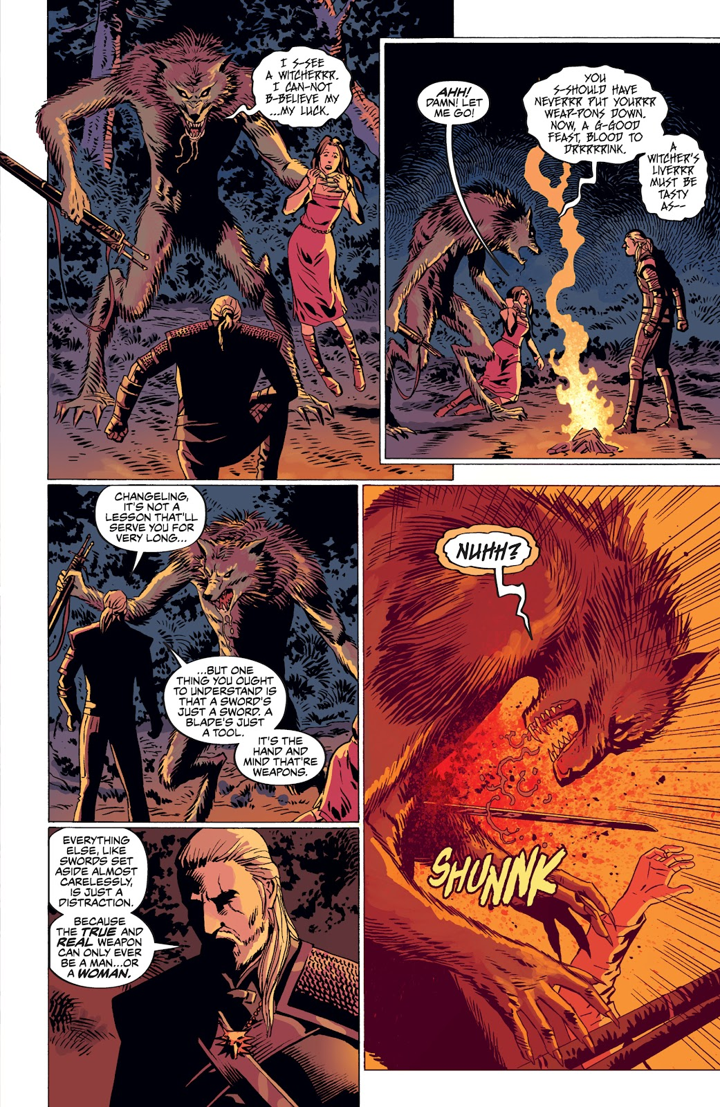 Read online The Witcher Omnibus comic -  Issue # TPB (Part 4) - 12