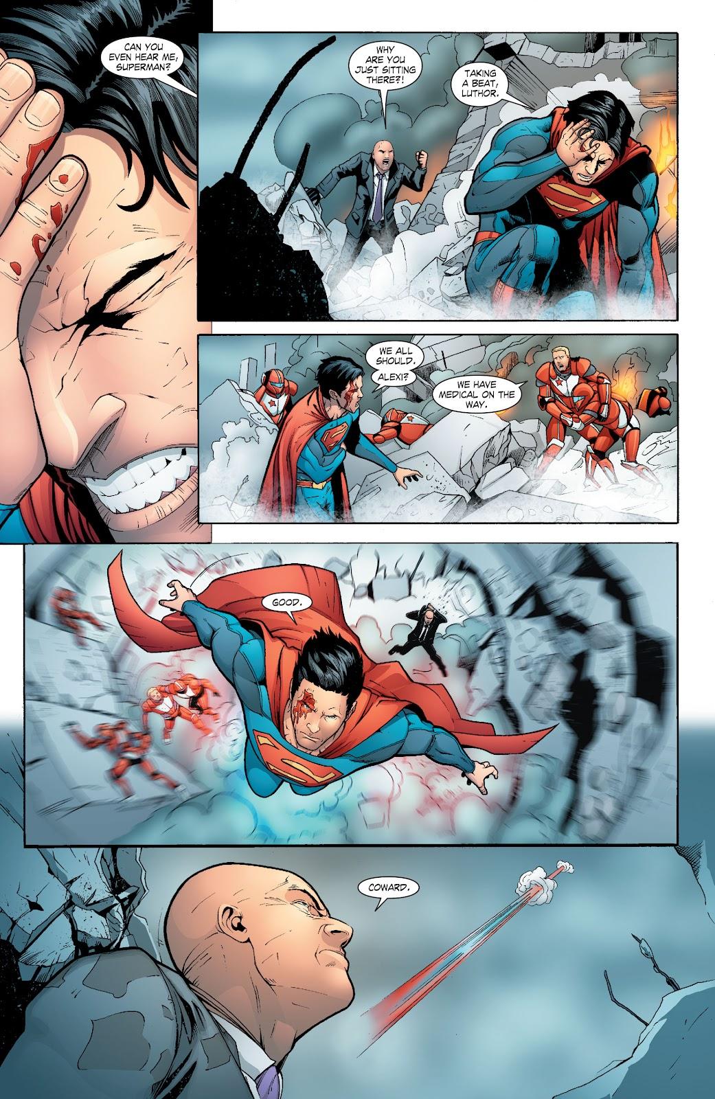 Read online Smallville Season 11 [II] comic -  Issue # TPB 6 - 113