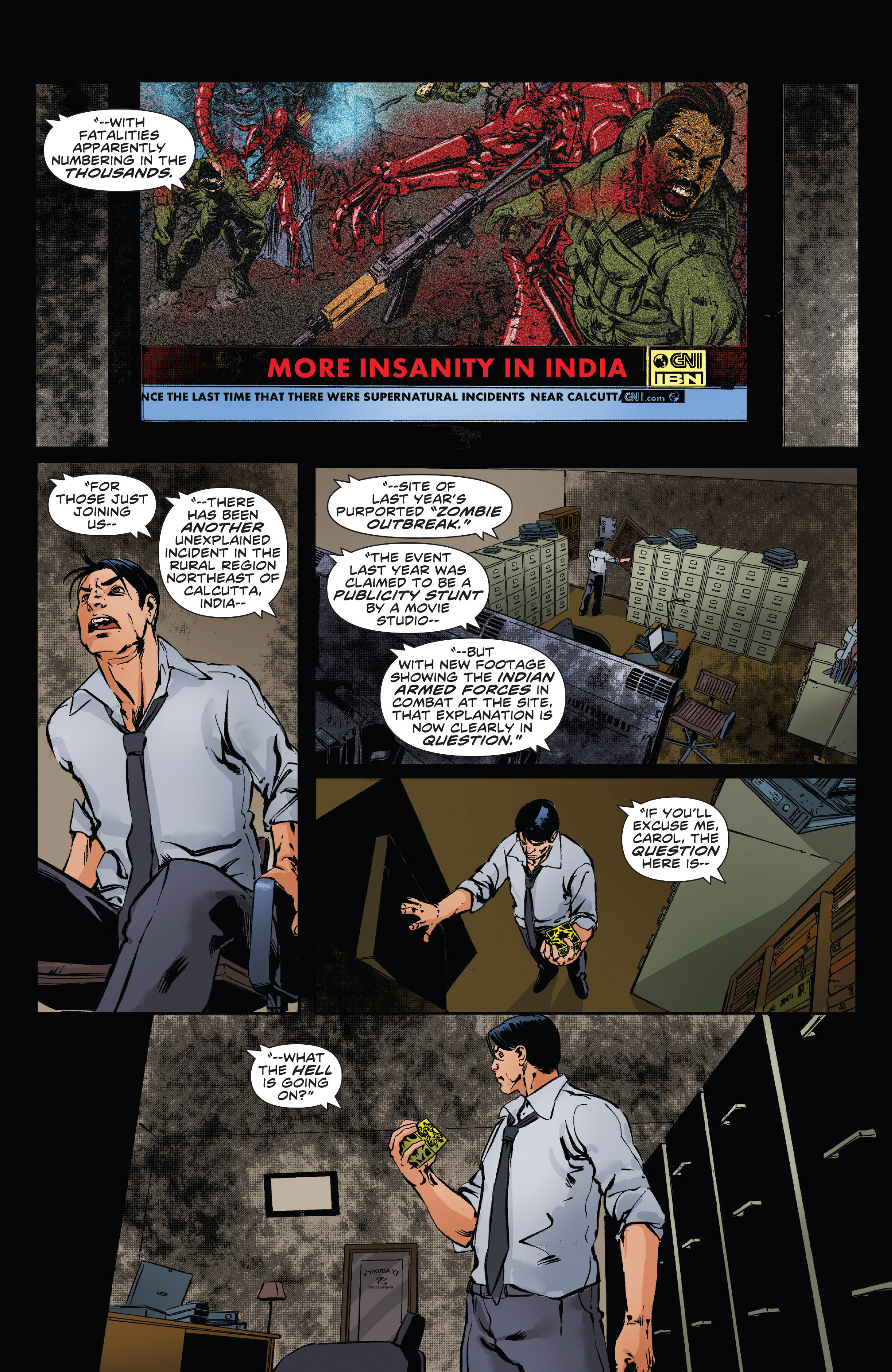 Read online Clive Barker's Hellraiser: The Dark Watch comic -  Issue # TPB 3 - 83