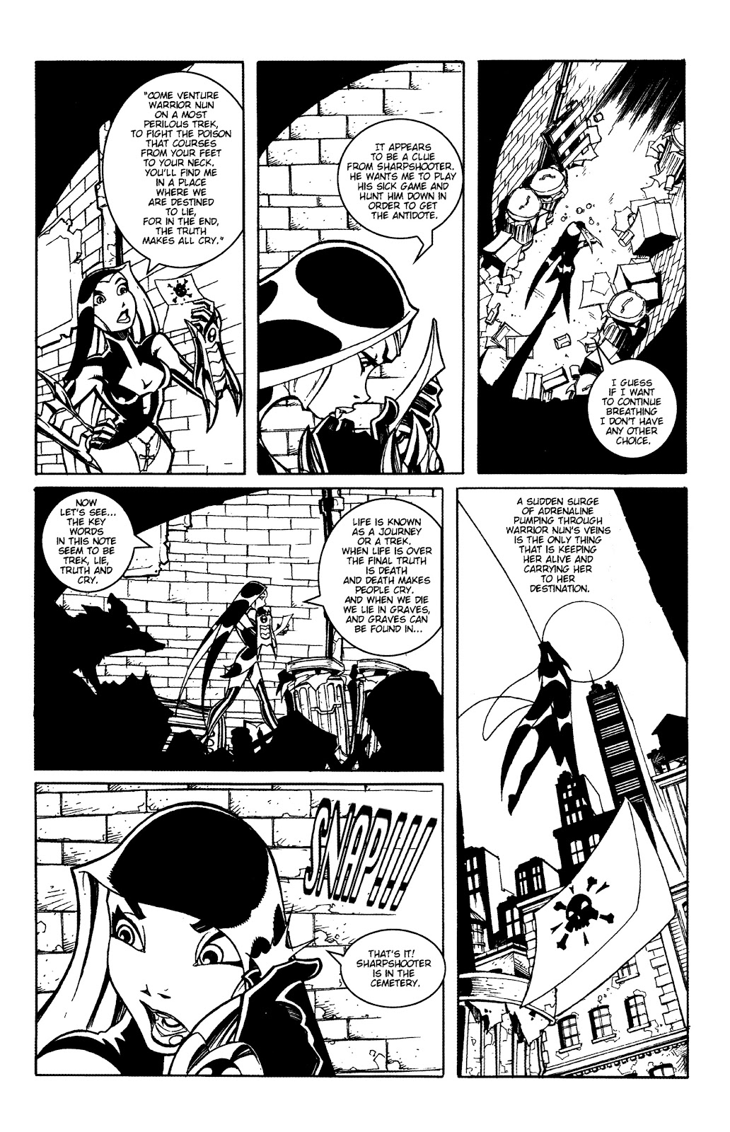 Warrior Nun Areala:  Dangerous Game Issue #2 #2 - English 4