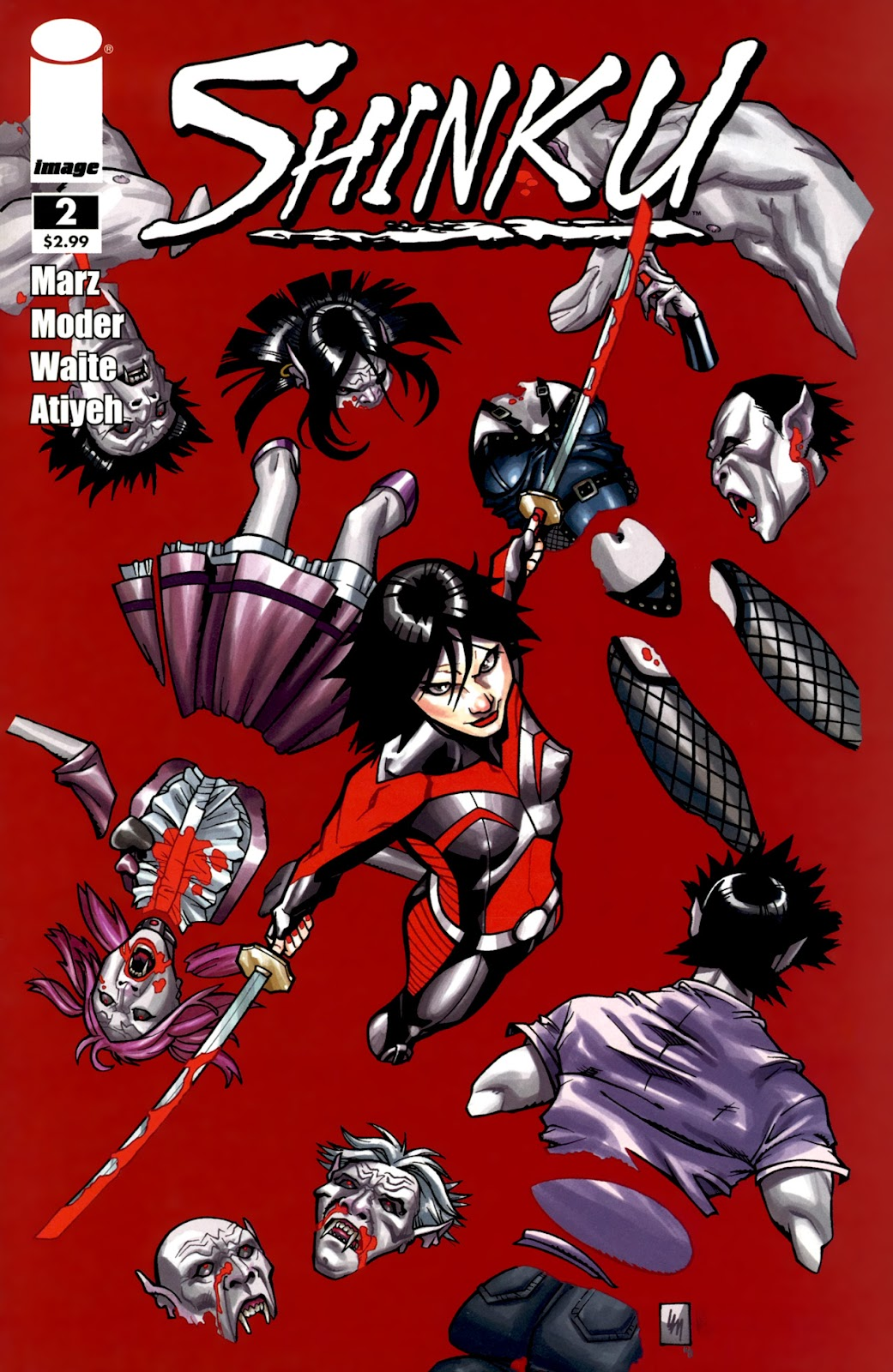 Read online Shinku comic -  Issue #2 - 1