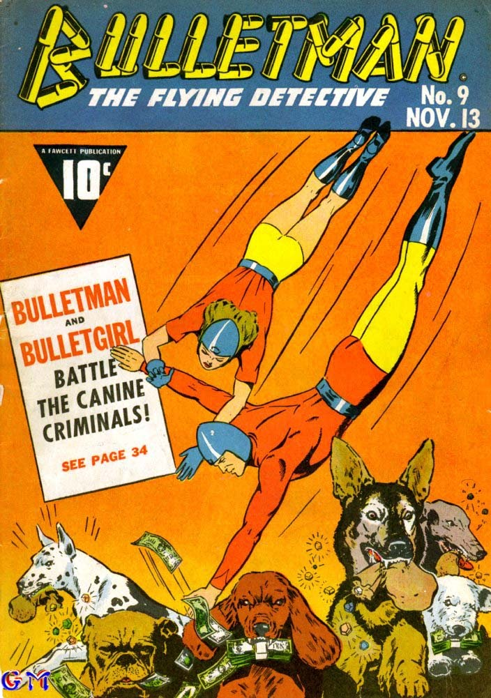 Bulletman issue 9 - Page 1