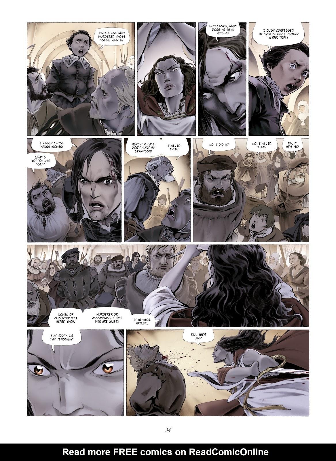 Read online Arthus Trivium comic -  Issue #4 - 36