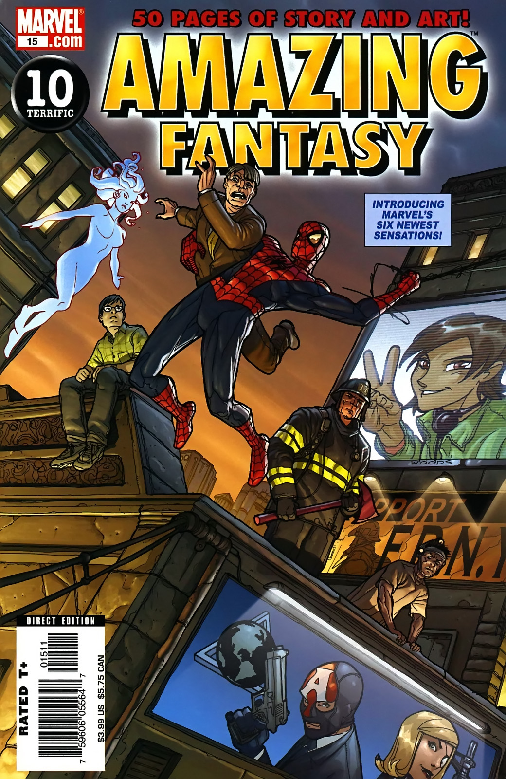 Read online Amazing Fantasy (2004) comic -  Issue #15 - 1