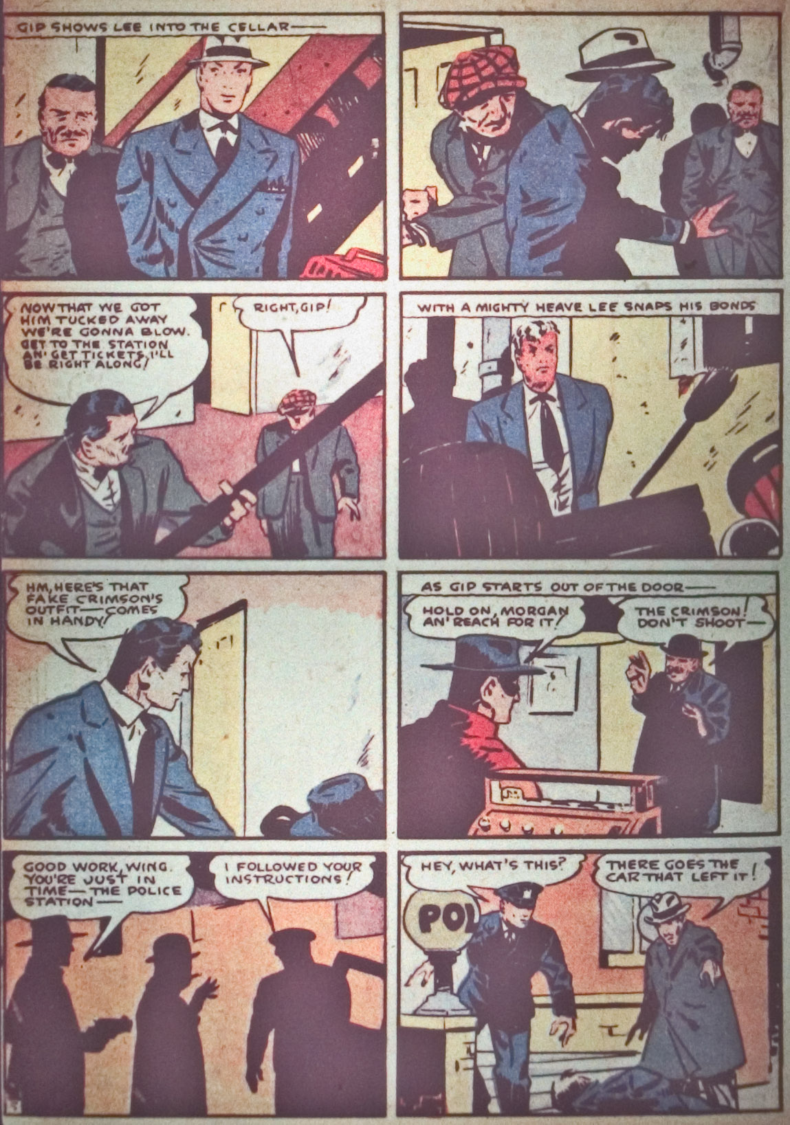 Read online Detective Comics (1937) comic -  Issue #26 - 32