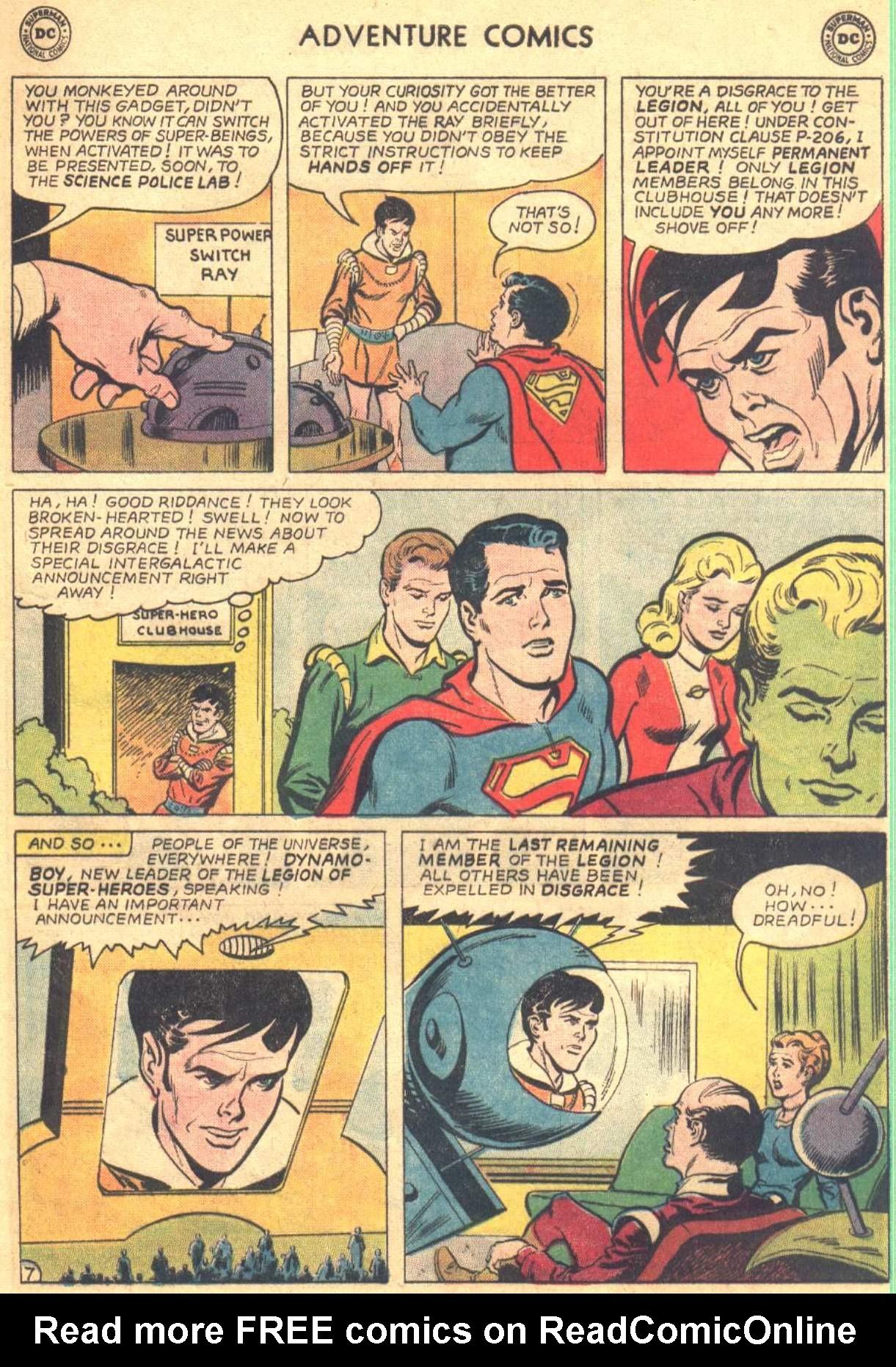 Read online Adventure Comics (1938) comic -  Issue #330 - 19