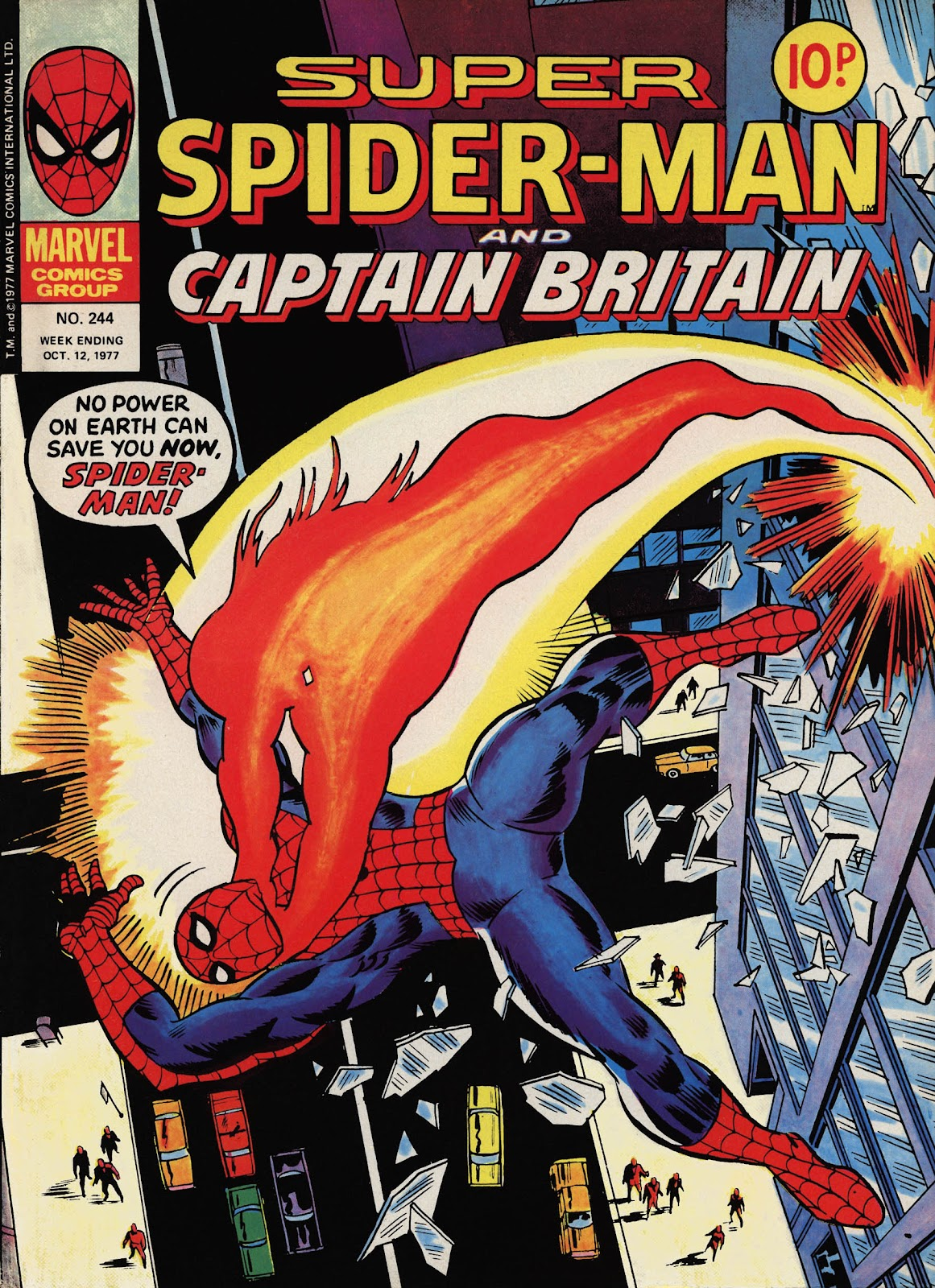 Super Spider-Man and Captain Britain issue 244 - Page 1