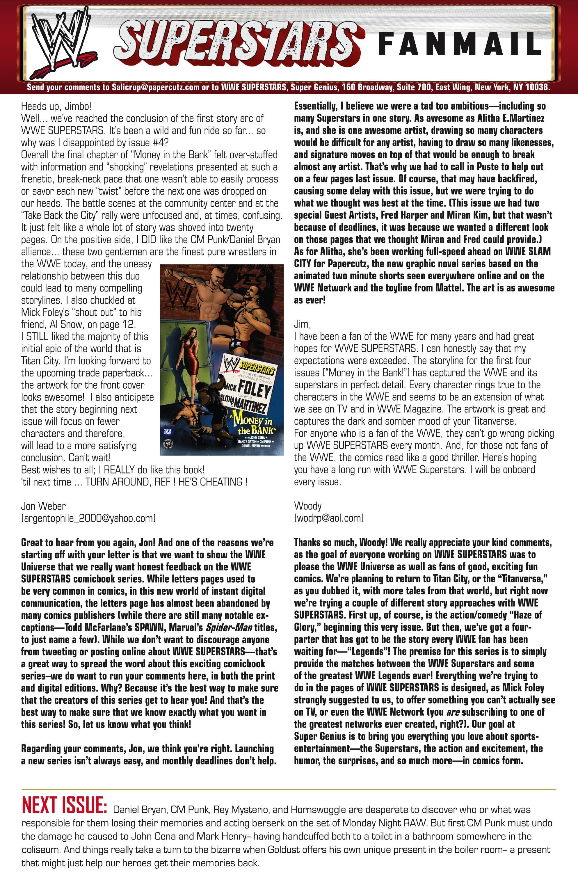 Read online WWE Superstars comic -  Issue #5 - 23