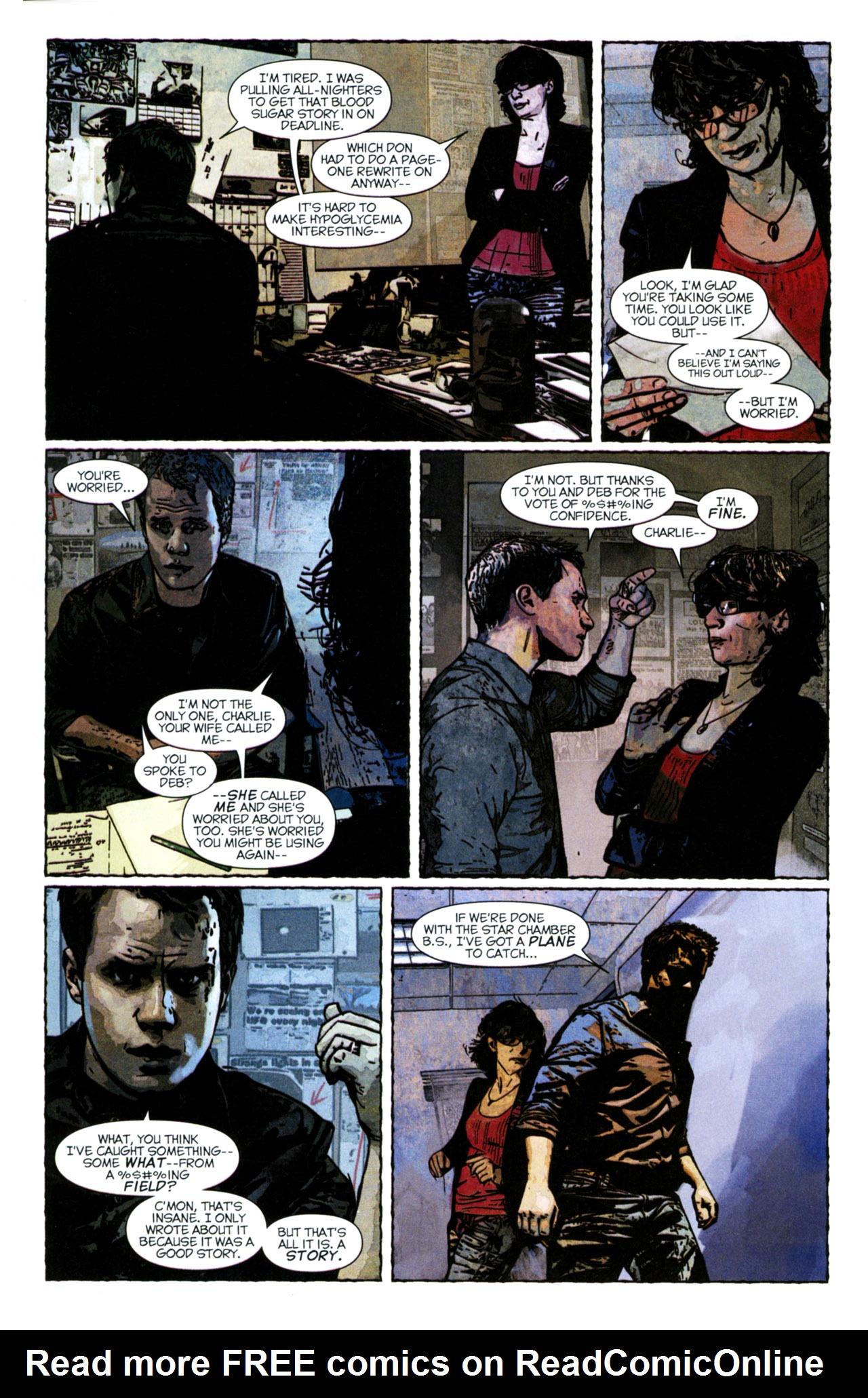 Read online Stephen King's N. comic -  Issue #4 - 16