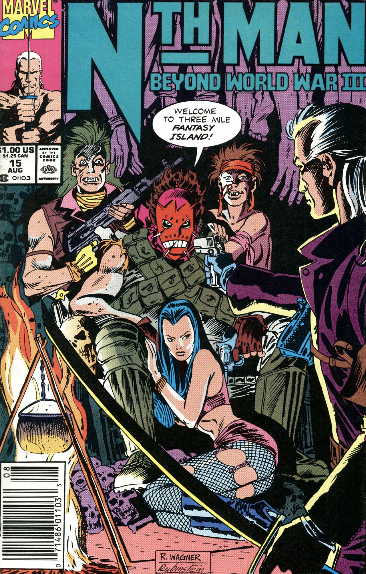 Nth Man the Ultimate Ninja 15 Page 1