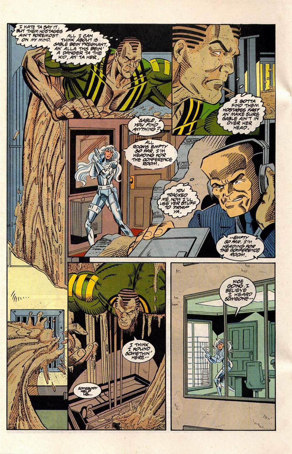 Read online Silver Sable and the Wild Pack comic -  Issue #33 - 14
