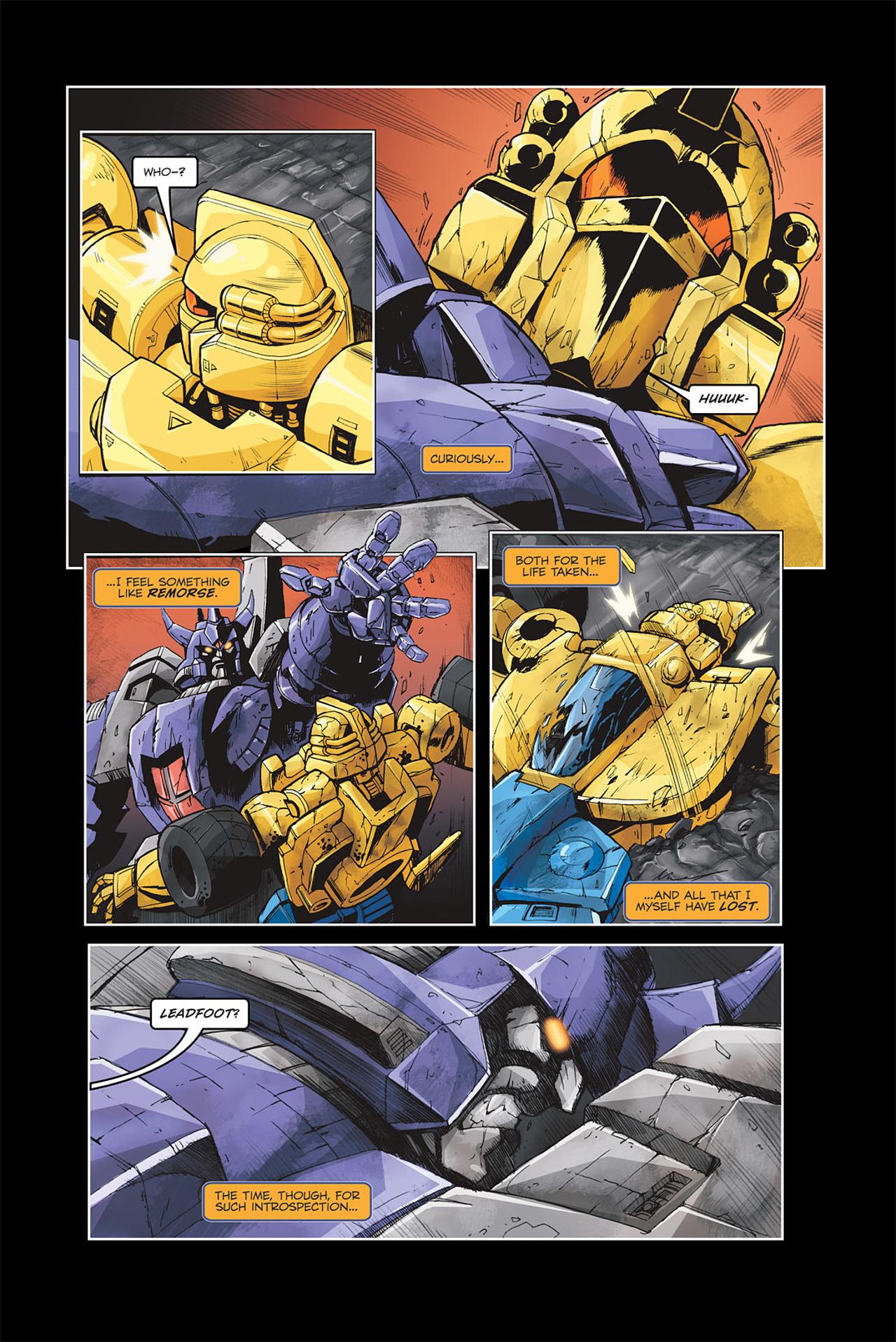 Read online Transformers Spotlight: Galvatron comic -  Issue # Full - 17
