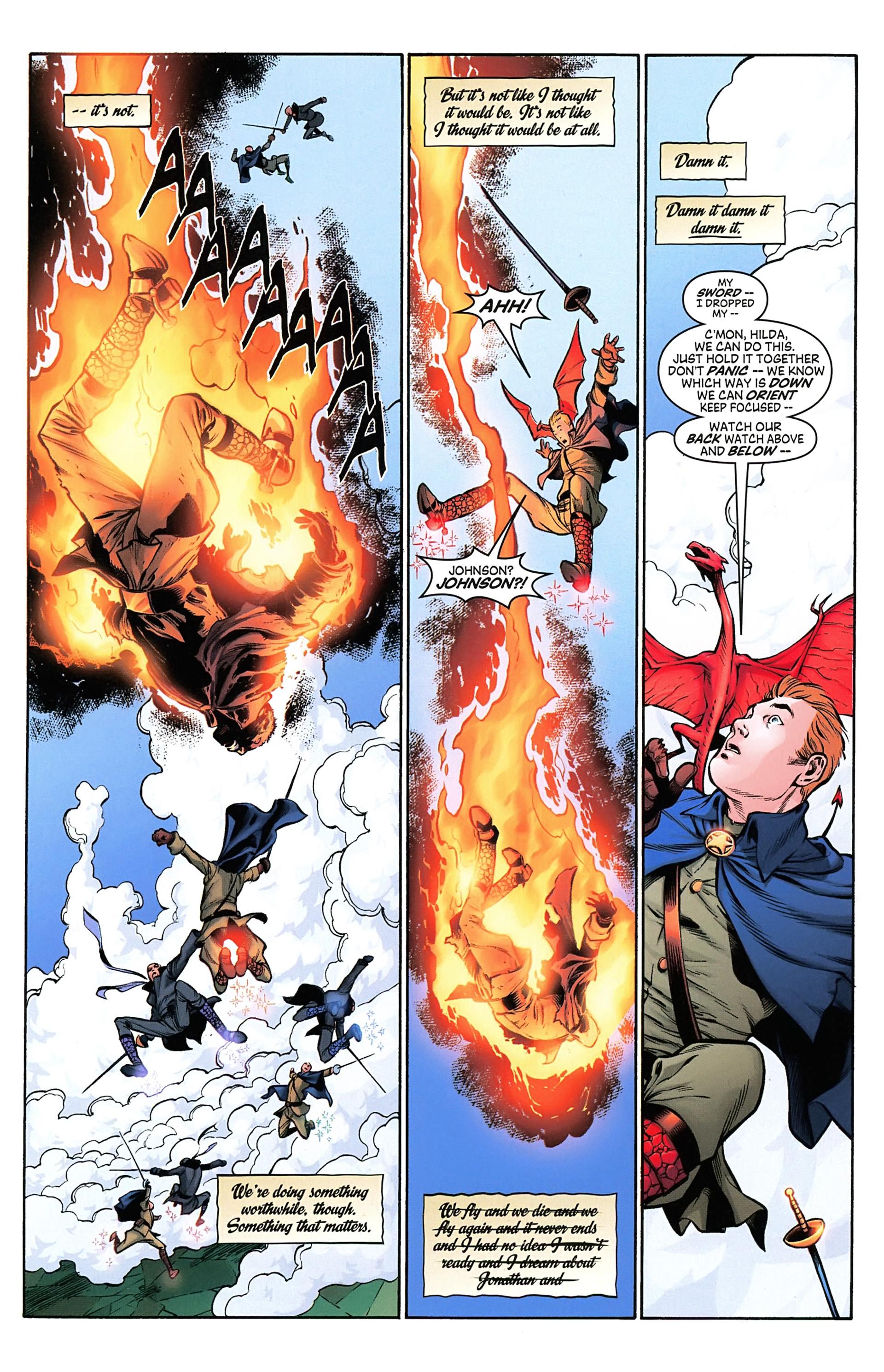 Read online Arrowsmith comic -  Issue #4 - 4