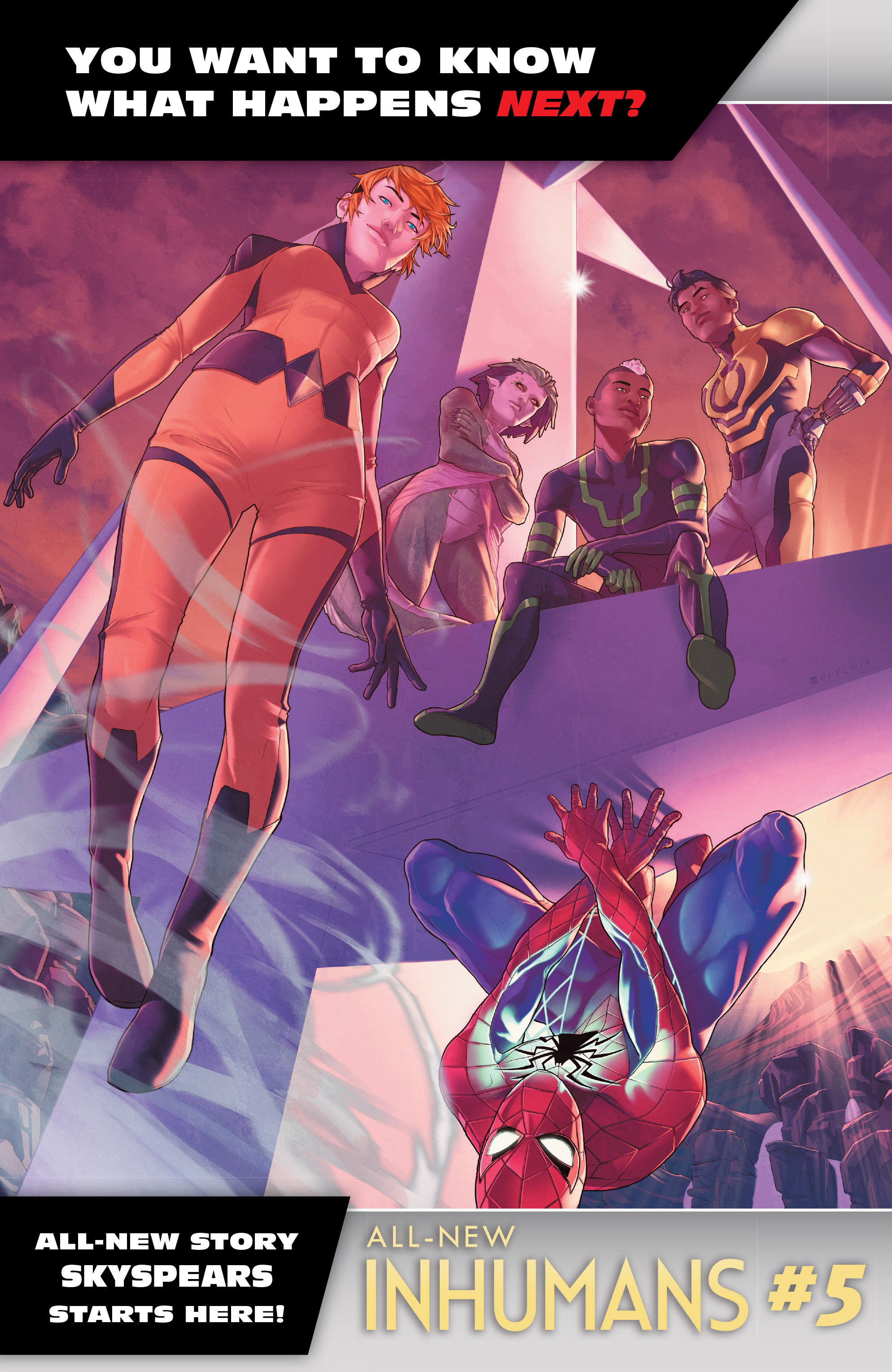 Read online All-New Inhumans comic -  Issue #4 - 22