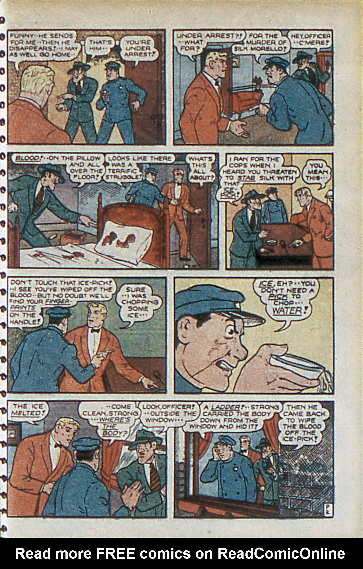 Read online Adventure Comics (1938) comic -  Issue #55 - 42