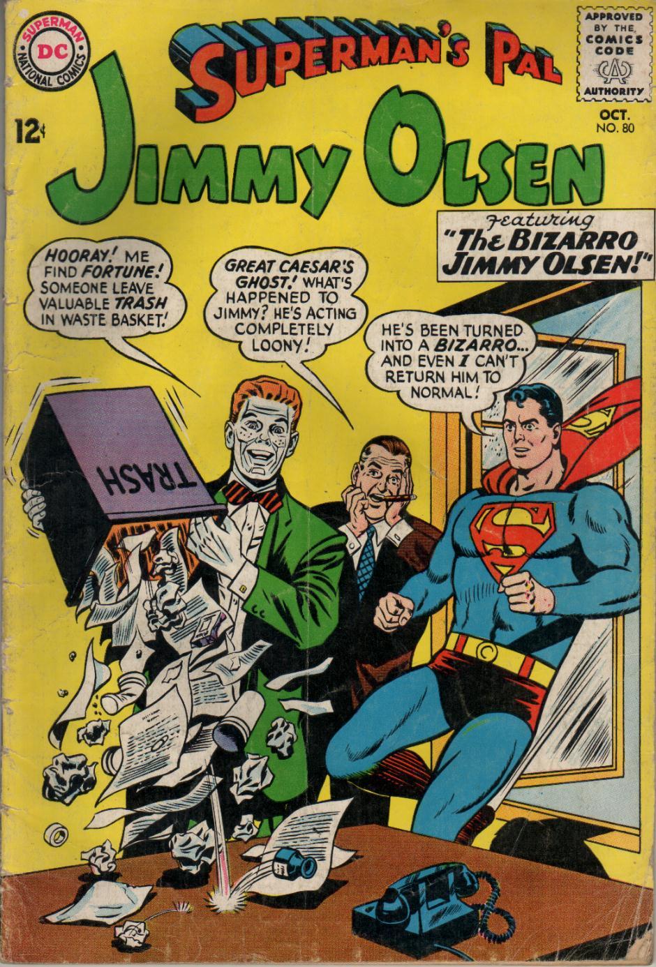 Supermans Pal Jimmy Olsen (1954) 80 Page 1