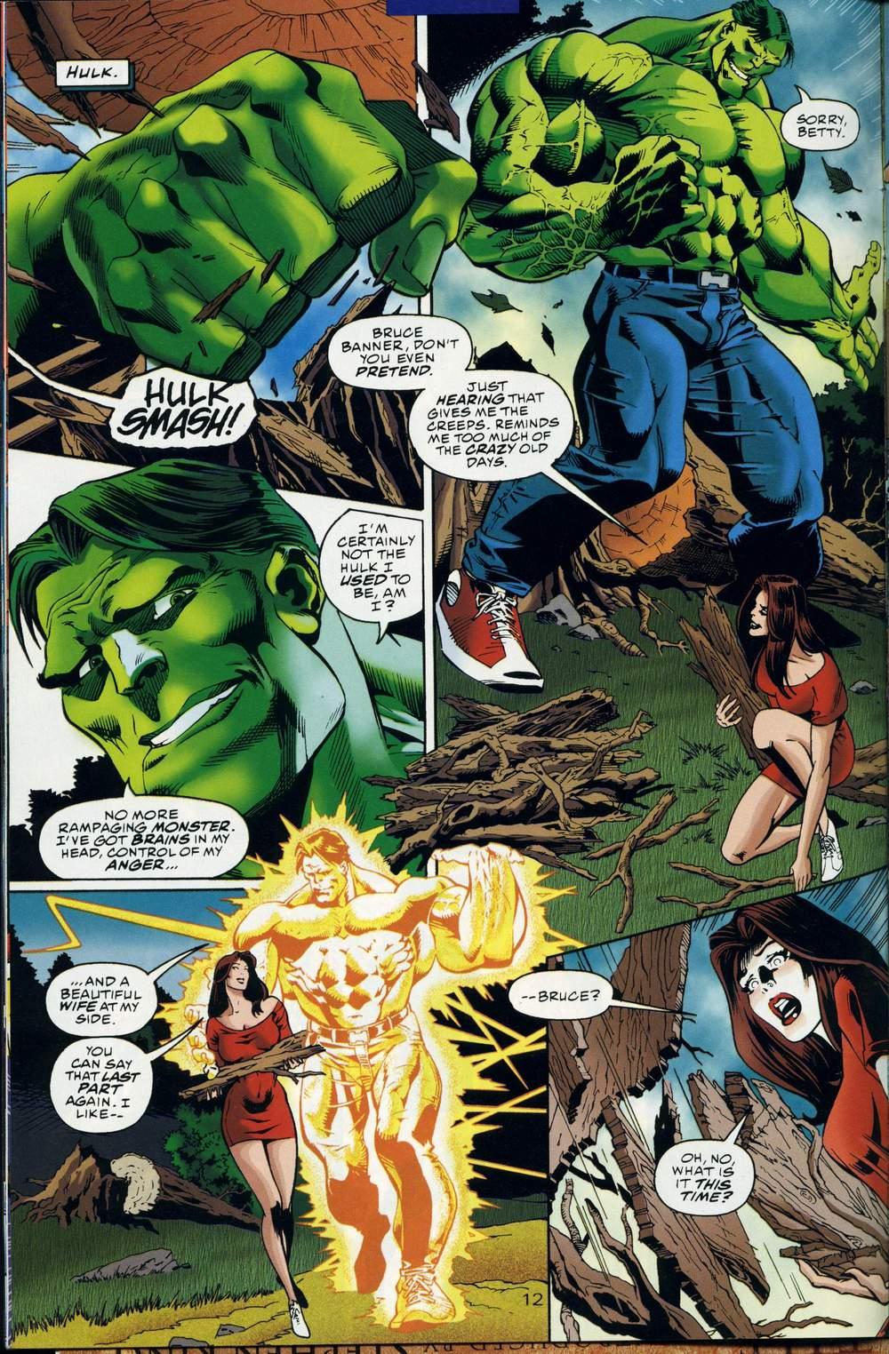 Read online DC Versus Marvel Comics comic -  Issue #1 - 14