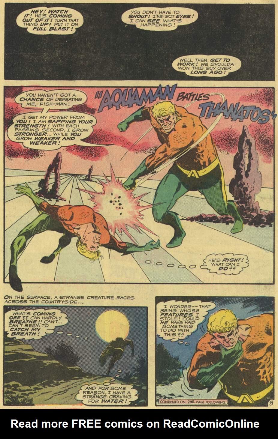 Read online Aquaman (1962) comic -  Issue #54 - 11