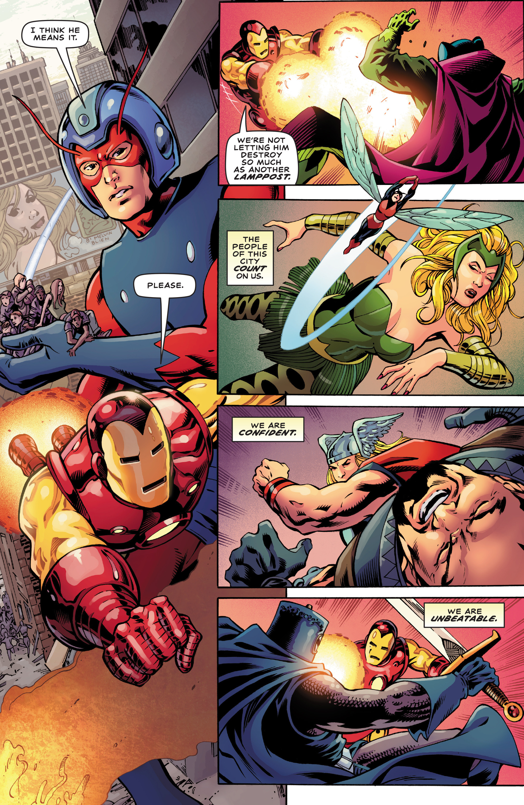 Read online Avengers (2016) comic -  Issue #1.1 - 5