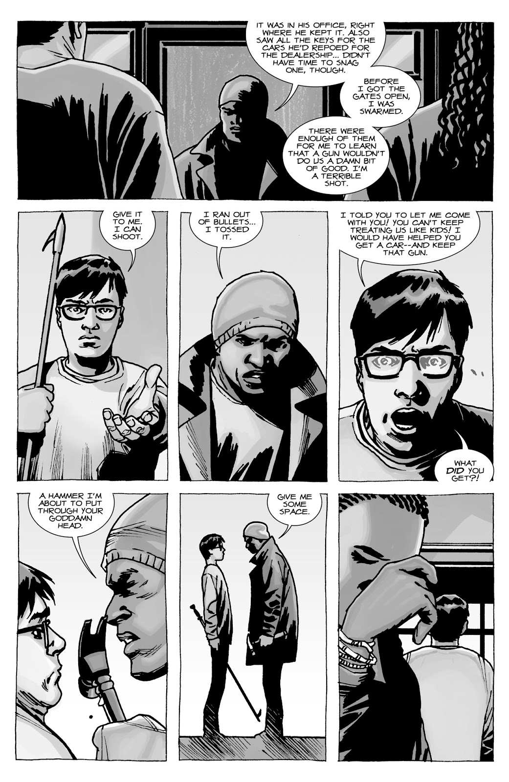 The Walking Dead issue Special - Tyreese Special - Page 7