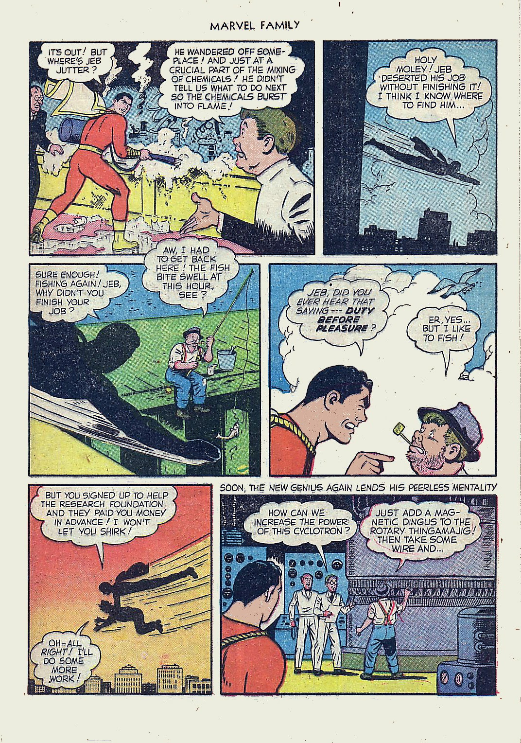 The Marvel Family issue 61 - Page 29