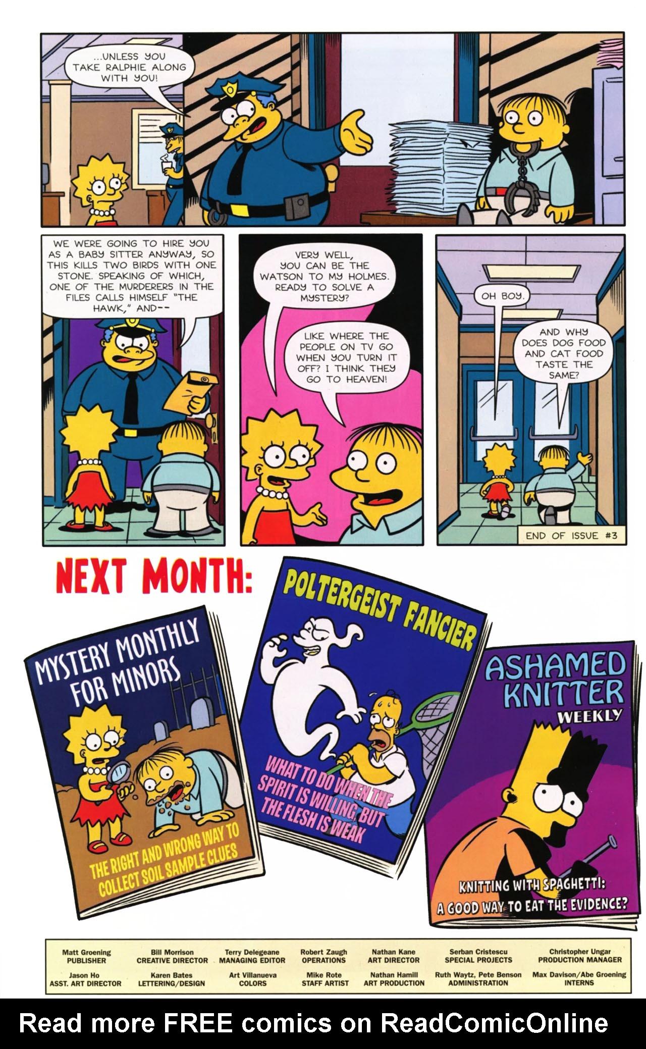 Read online Bongo Comics presents Comic Book Guy: The Comic Book comic -  Issue #3 - 27