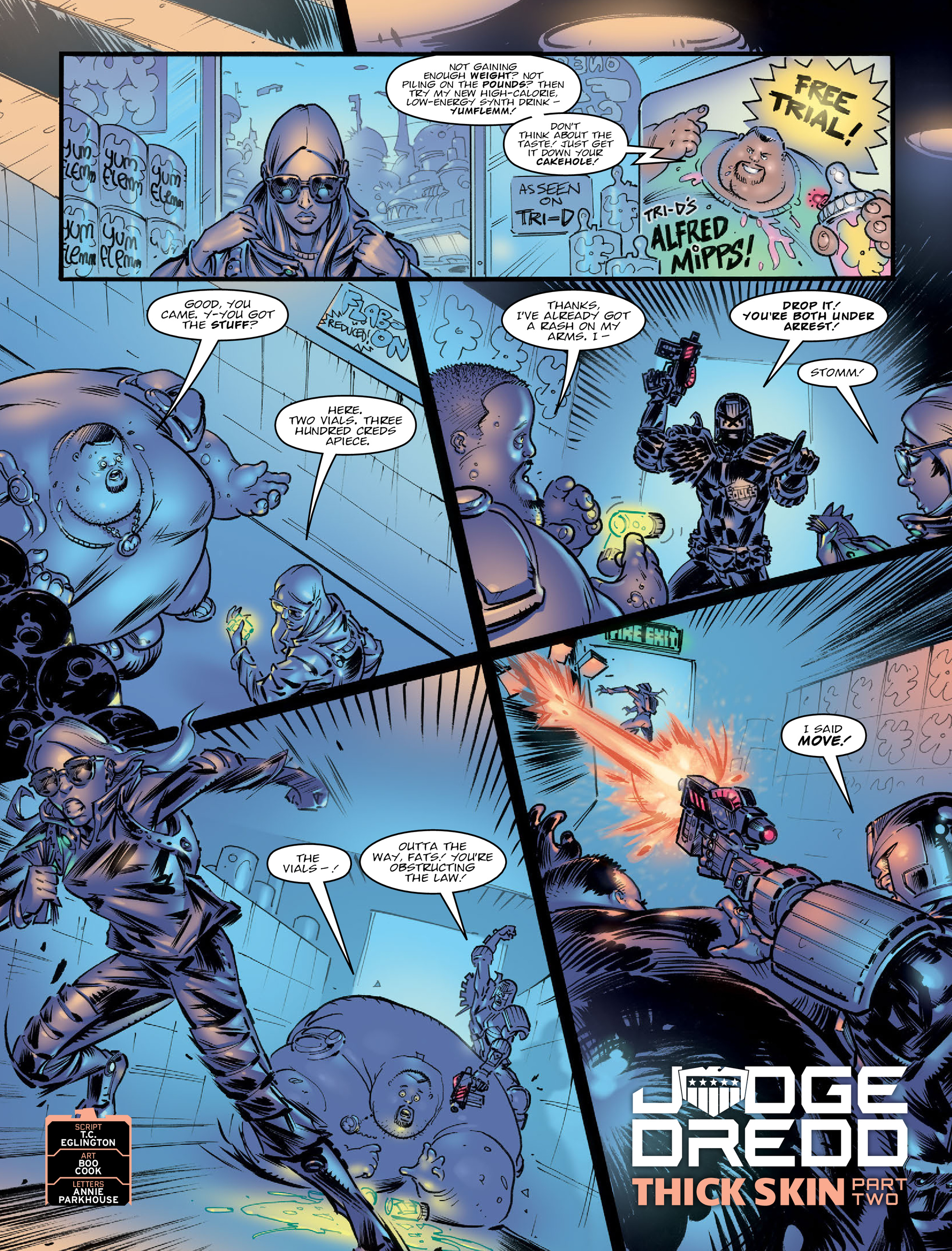 Read online 2000 AD comic -  Issue #2021 - 3