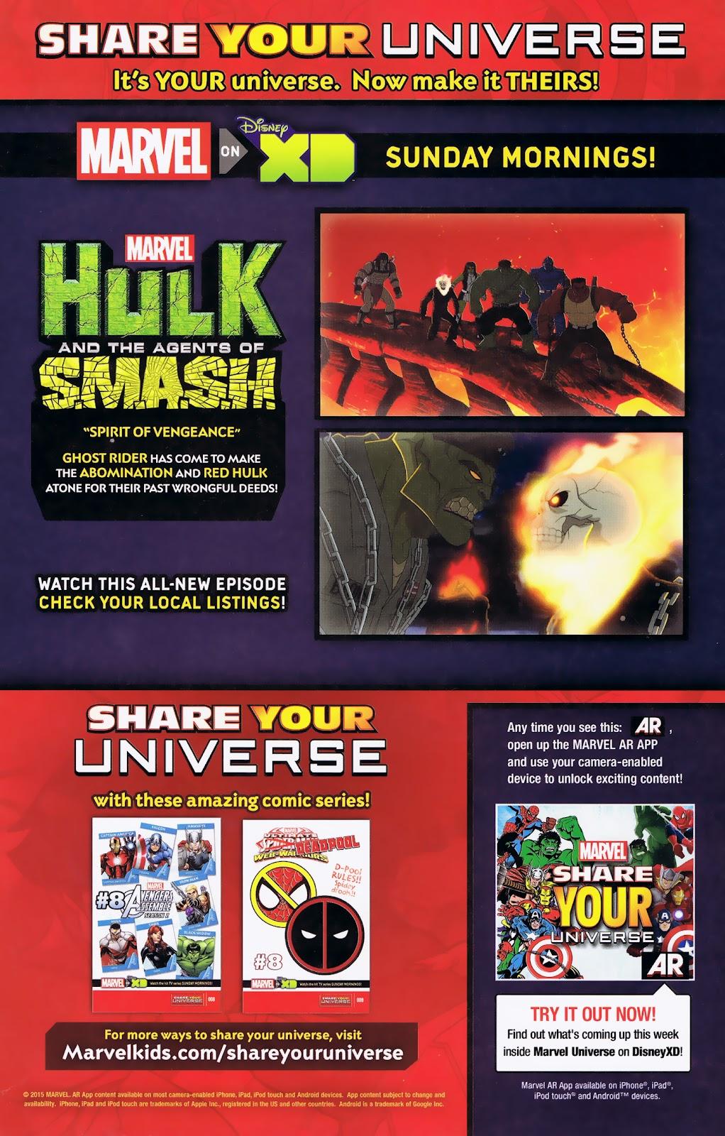 Read online Marvel Universe Avengers Assemble Season 2 comic -  Issue #8 - 7