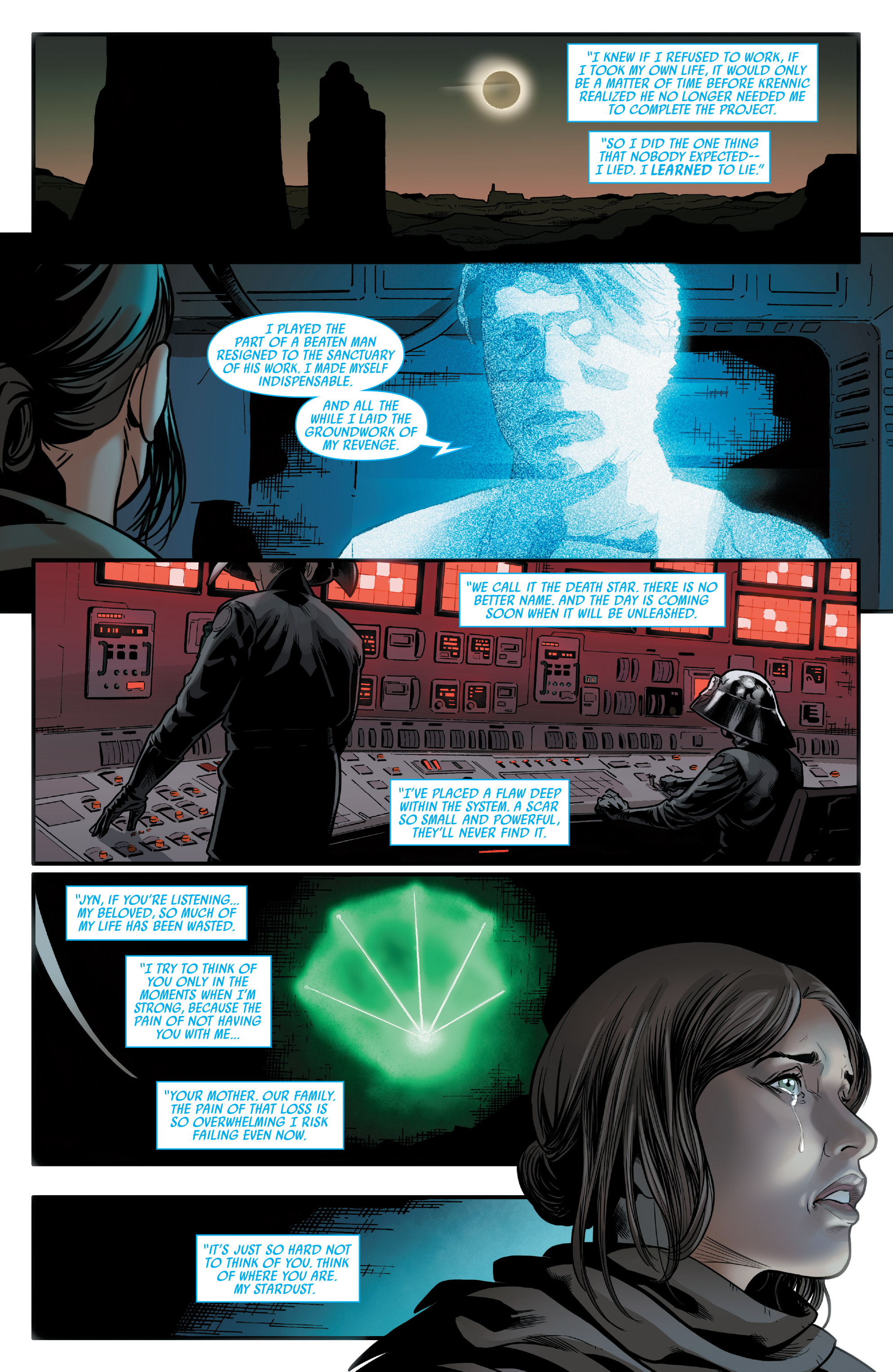 Read online Star Wars: Rogue One Adaptation comic -  Issue #2 - 21