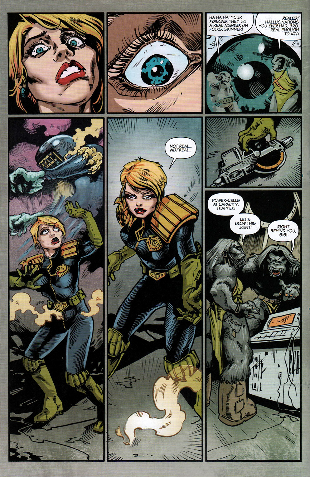 Read online Free Comic Book Day 2017 comic -  Issue # 2000 AD prog - 23