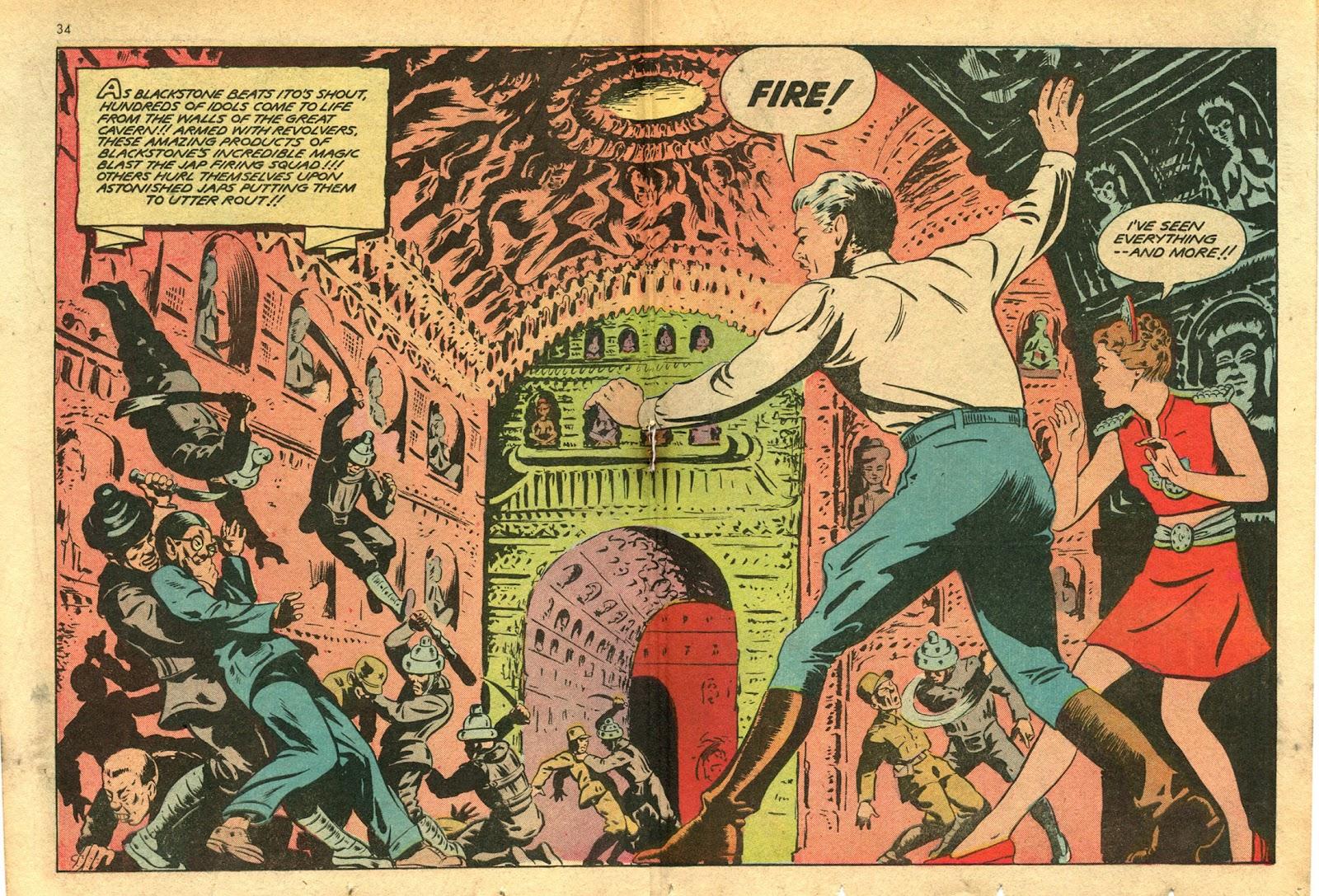Read online Super-Magician Comics comic -  Issue #14 - 34