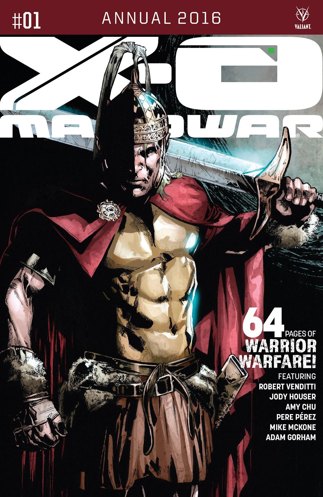 X-O Manowar (2012) Annual_1 Page 1