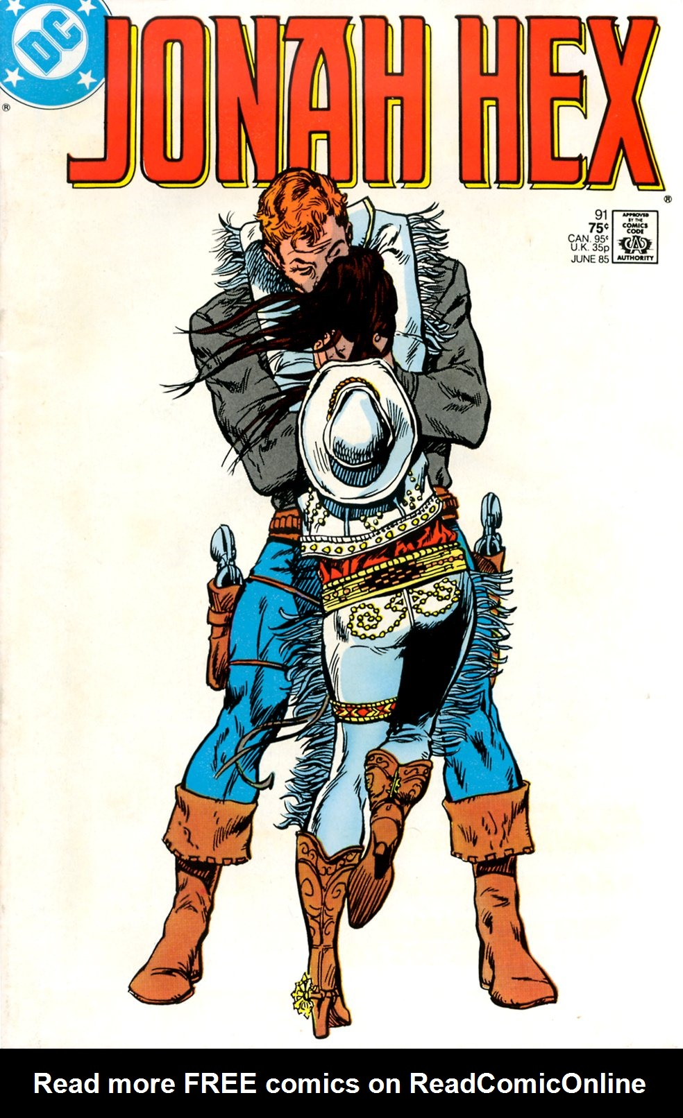 Jonah Hex (1977) 91 Page 1