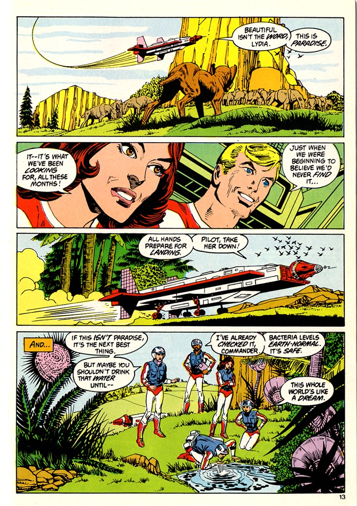 Read online Atari Force (1982) comic -  Issue #5 - 15