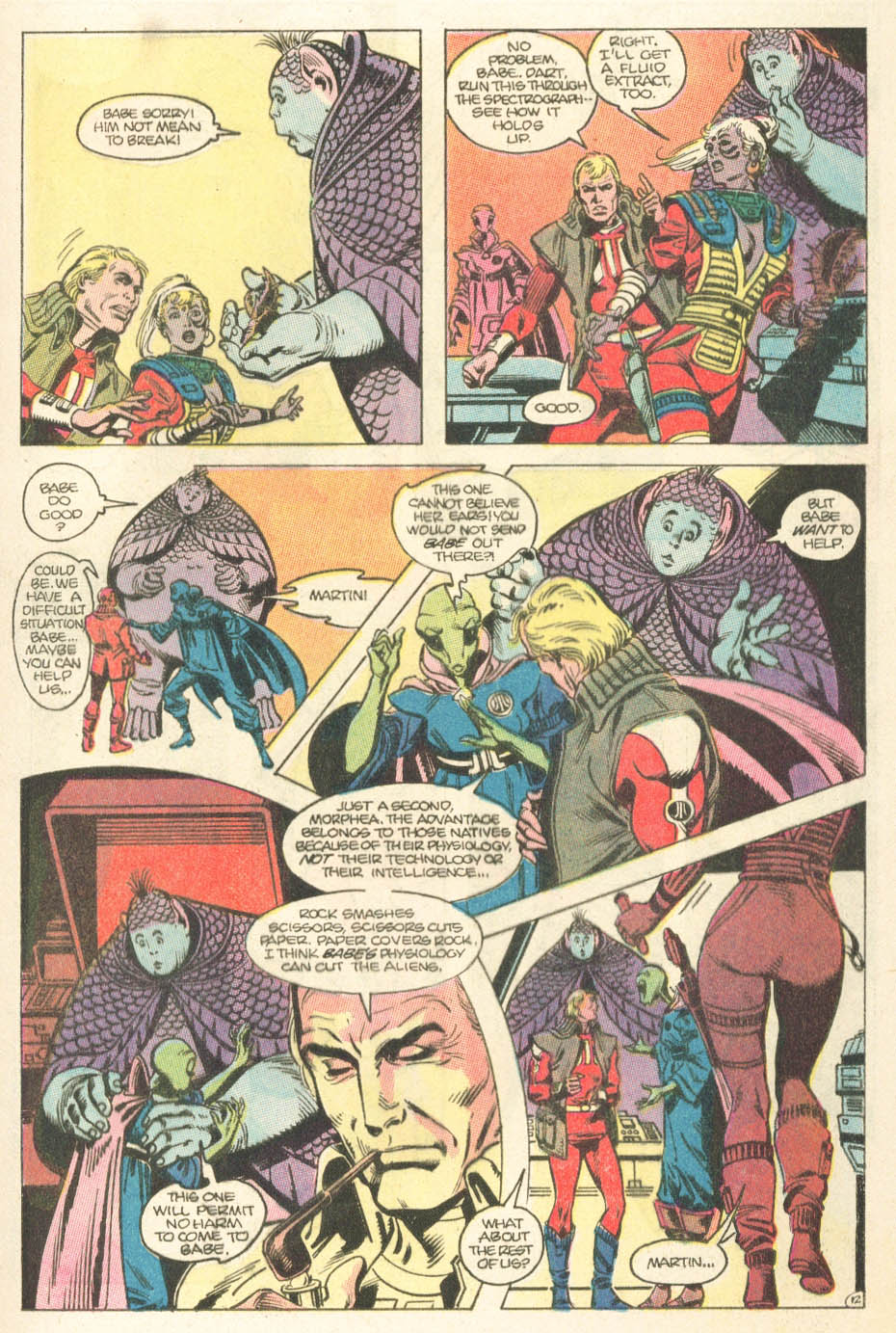 Read online Atari Force (1984) comic -  Issue #15 - 14