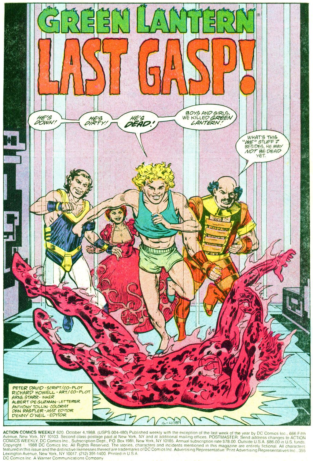 Action Comics (1938) 620 Page 1