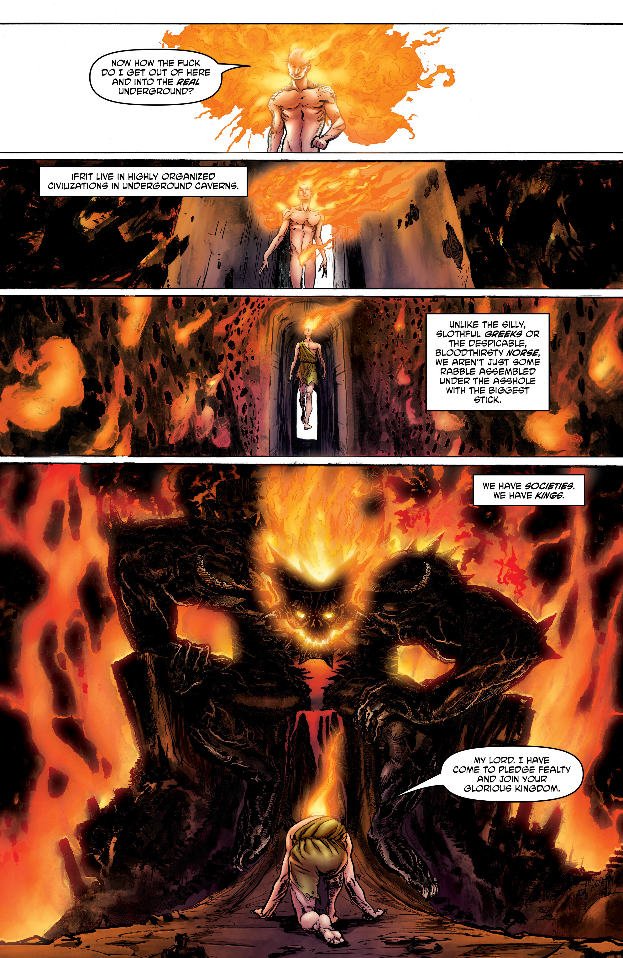 Read online God is Dead: Book of Acts comic -  Issue # Alpha - 15