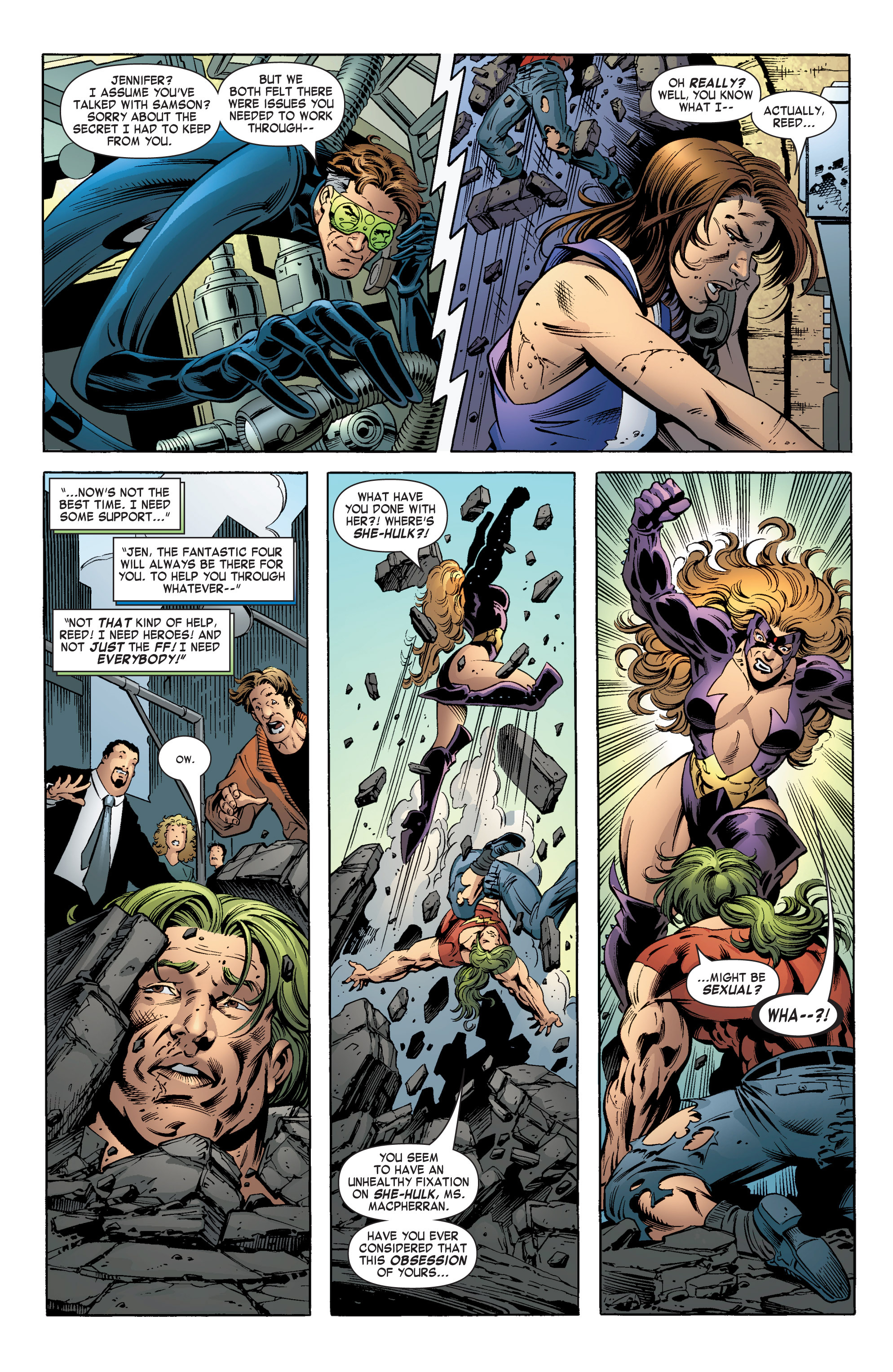 Read online She-Hulk (2004) comic -  Issue #12 - 6