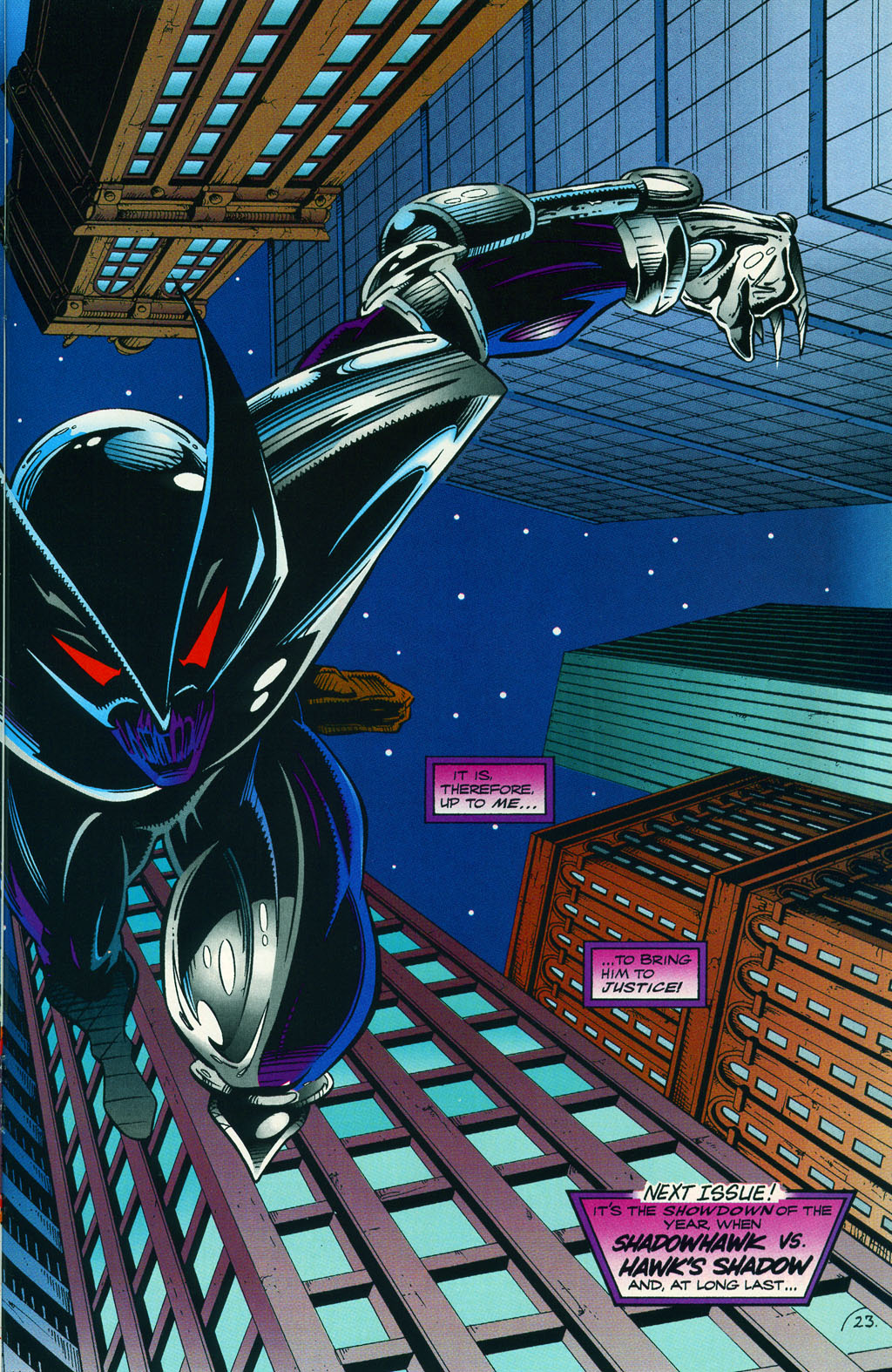 Read online ShadowHawk comic -  Issue #5 - 30