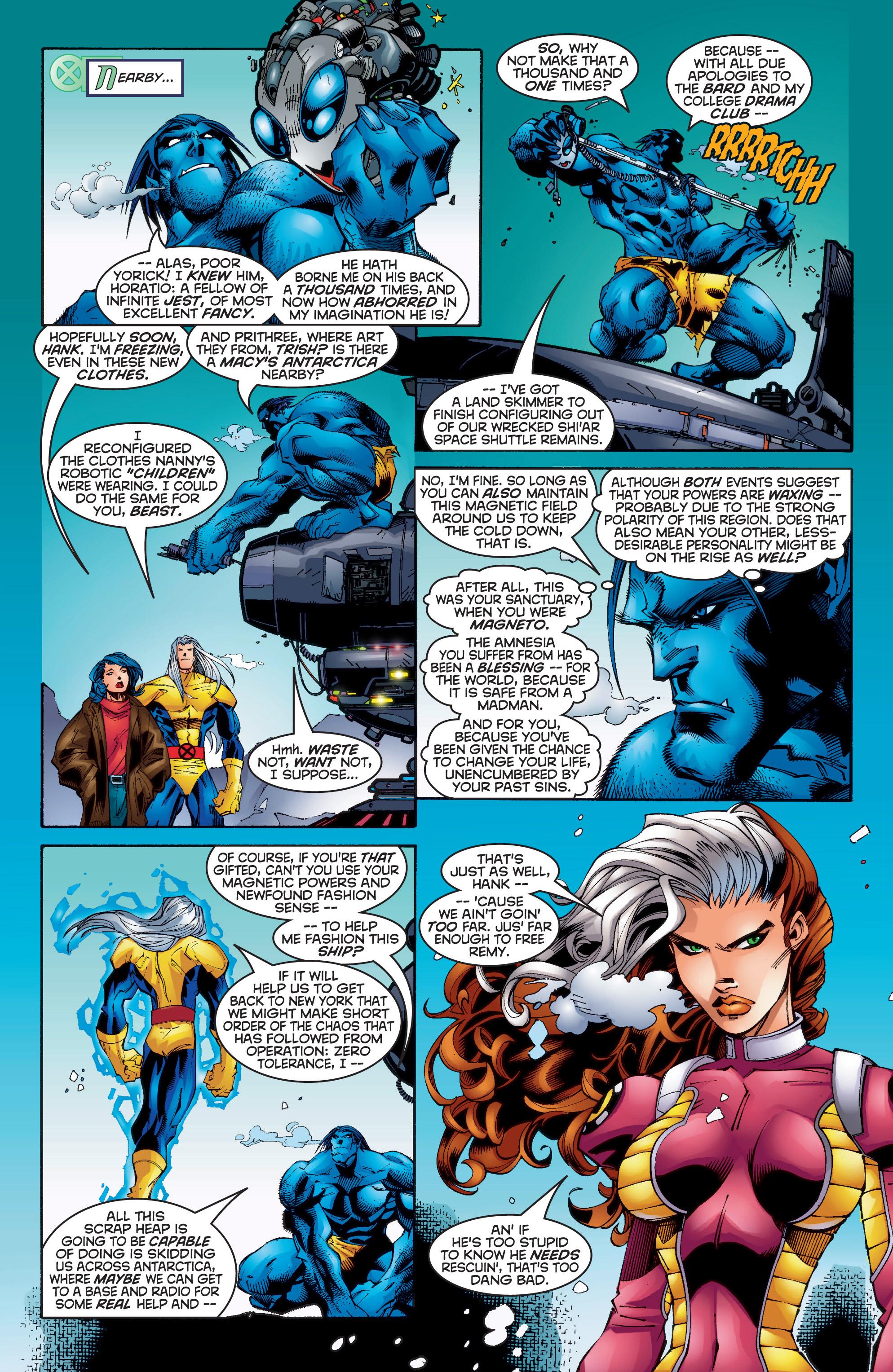 Read online Uncanny X-Men (1963) comic -  Issue #350 - 9
