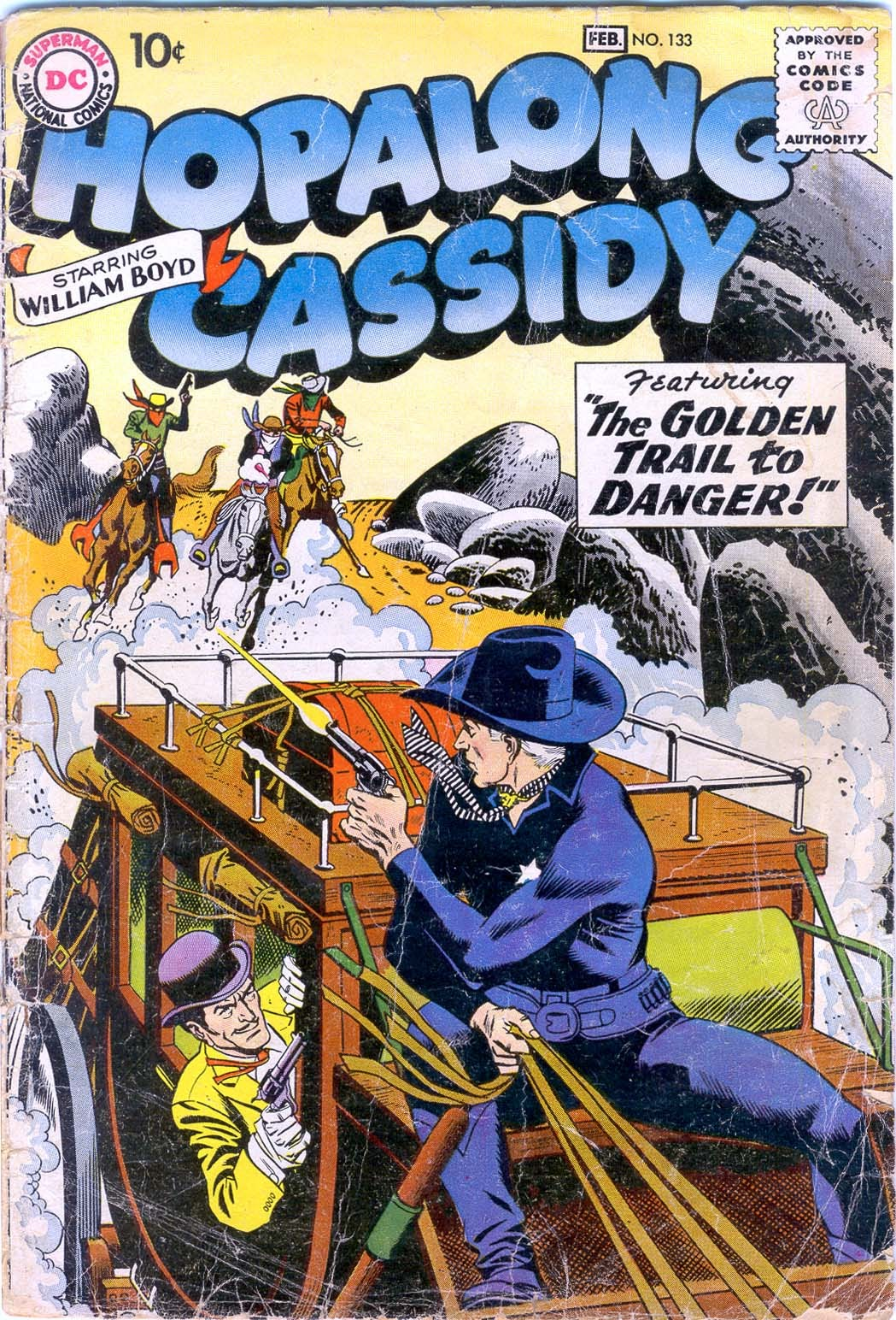 Hopalong Cassidy issue 133 - Page 1