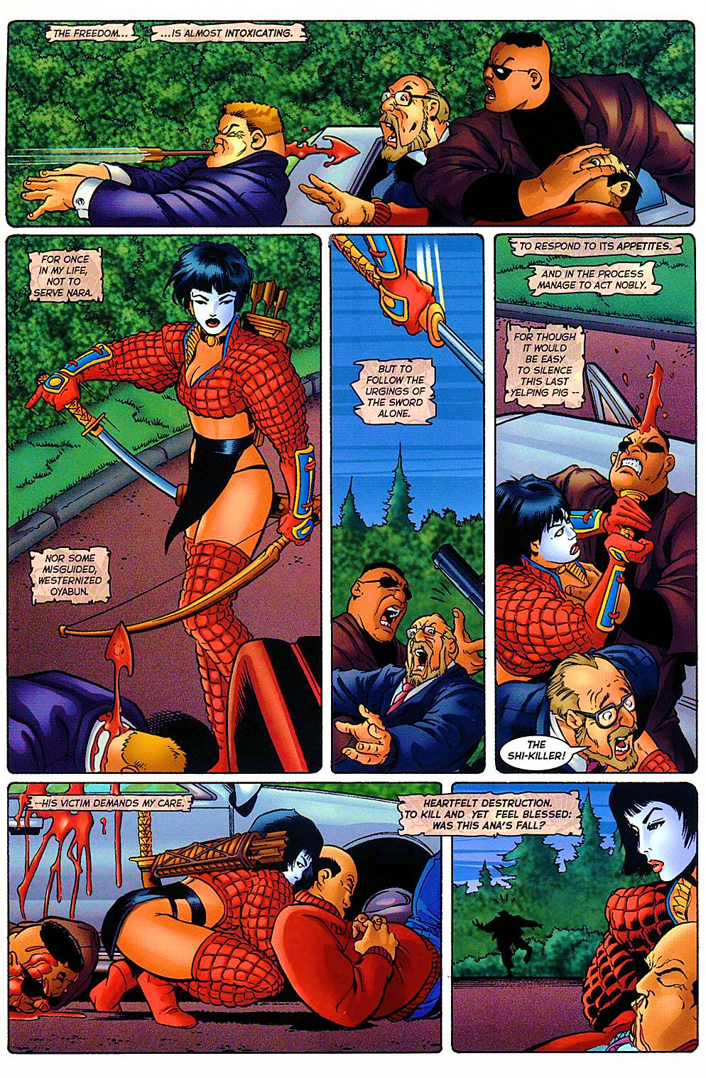 Read online Shi: The Way of the Warrior comic -  Issue #9 - 11