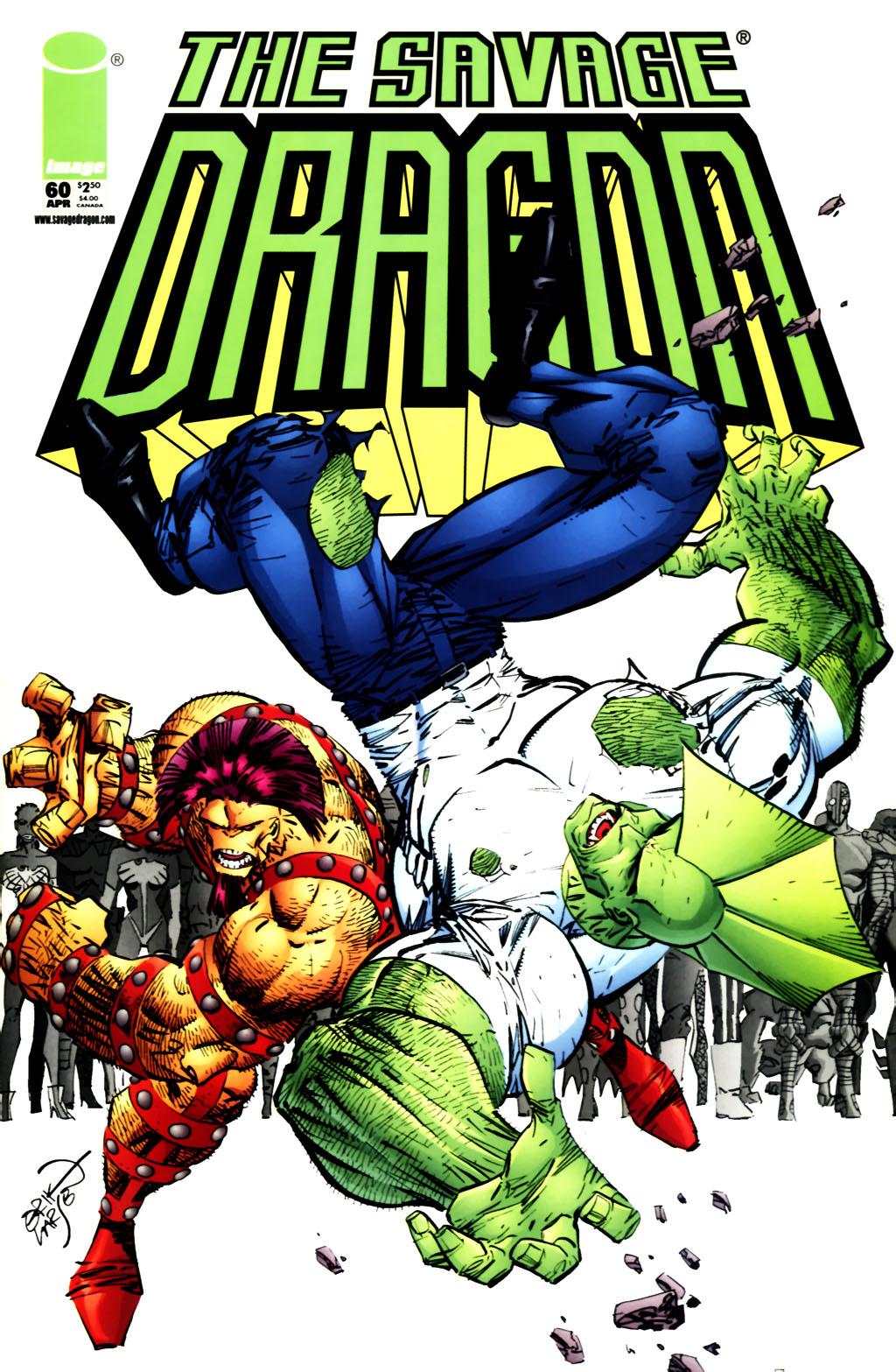 The Savage Dragon (1993) Issue #60 #63 - English 1