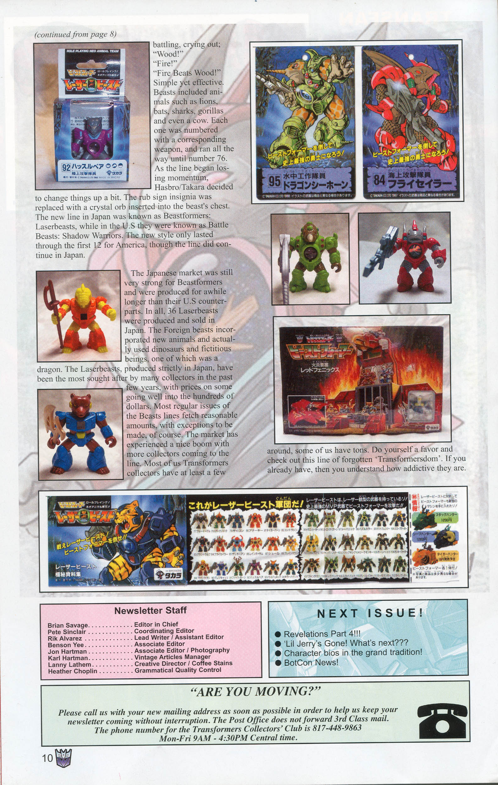 Read online Transformers: Collectors' Club comic -  Issue #9 - 10