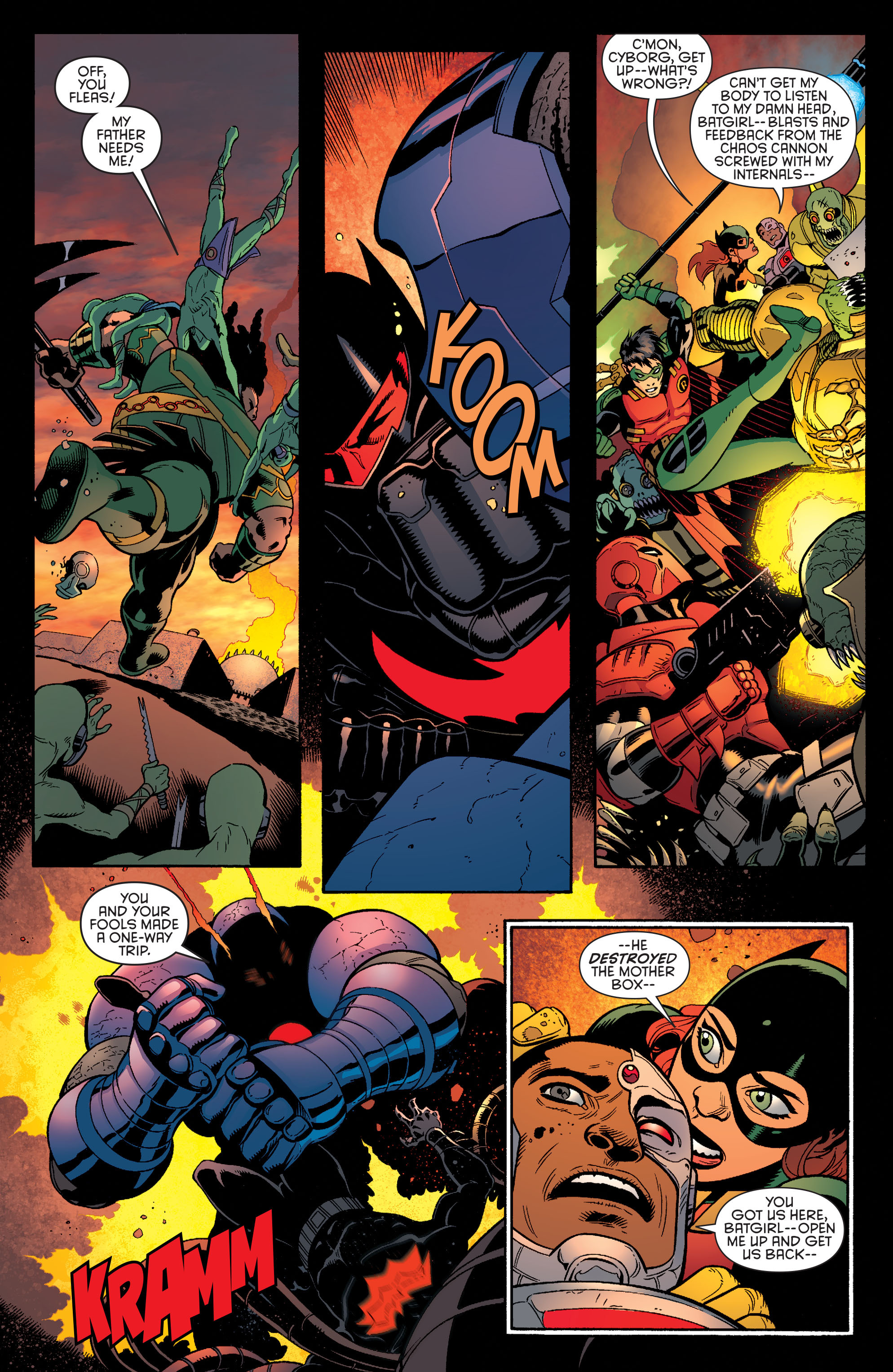 Read online Batman and Robin (2011) comic -  Issue #37 - 6