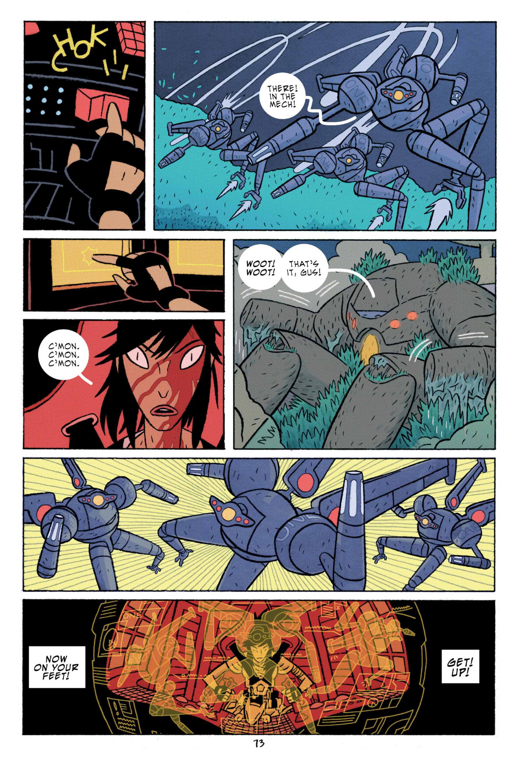 Read online ApocalyptiGirl: An Aria for the End Times comic -  Issue #ApocalyptiGirl: An Aria for the End Times Full - 81